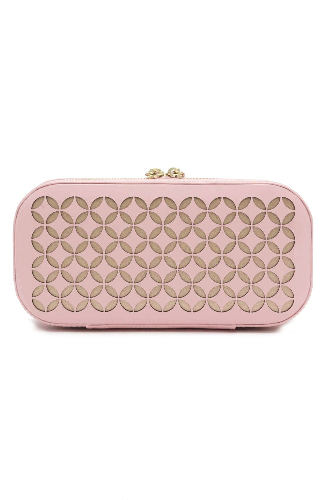 Chloe Zip Jewelry Case,                             Alternate thumbnail 3, color,                             650
