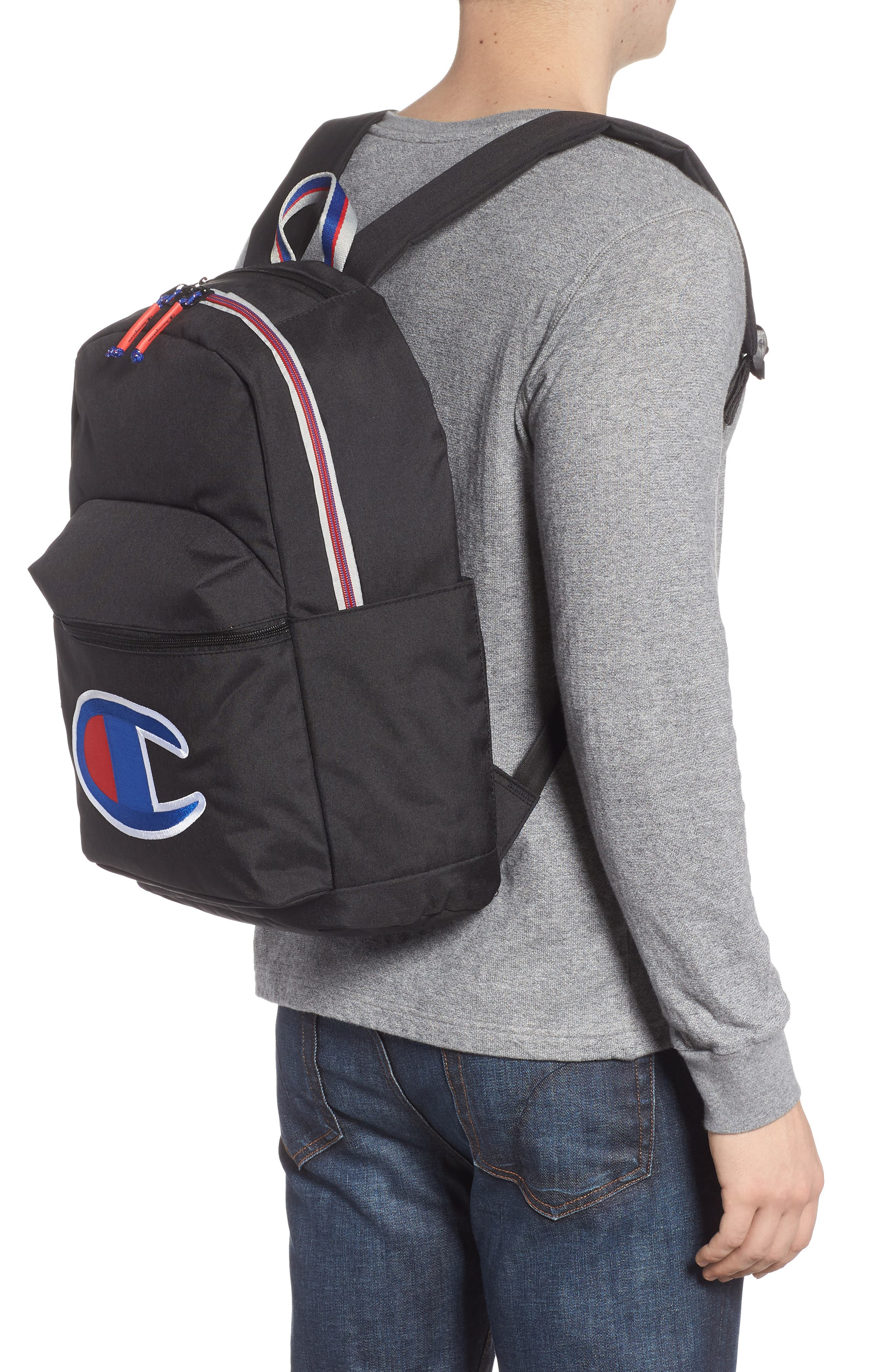 Supercize Backpack,                             Alternate thumbnail 2, color,                             BLACK HEATHER