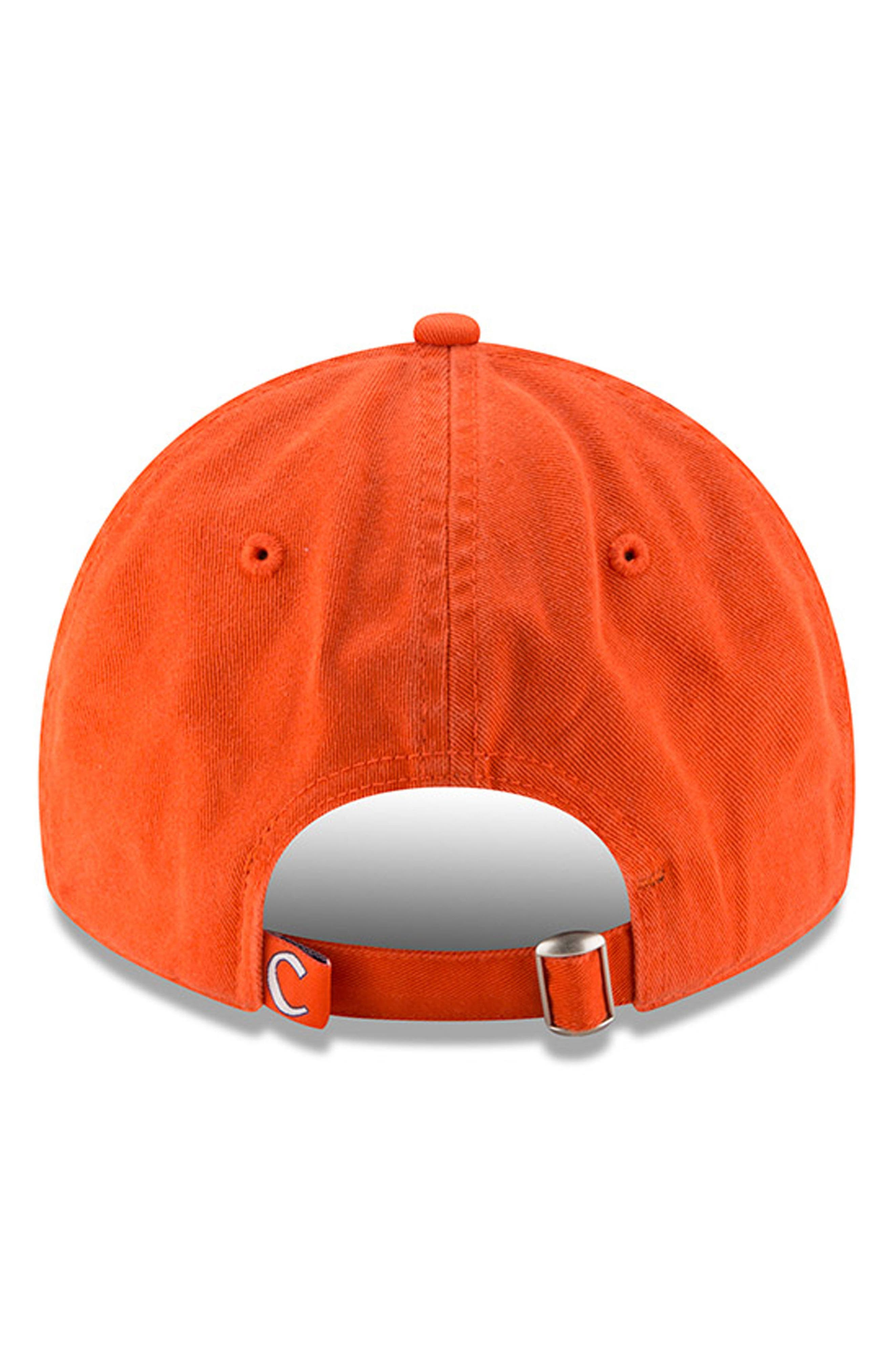 New Era Collegiate Core Classic - Clemson Tigers Baseball Cap,                             Alternate thumbnail 3, color,