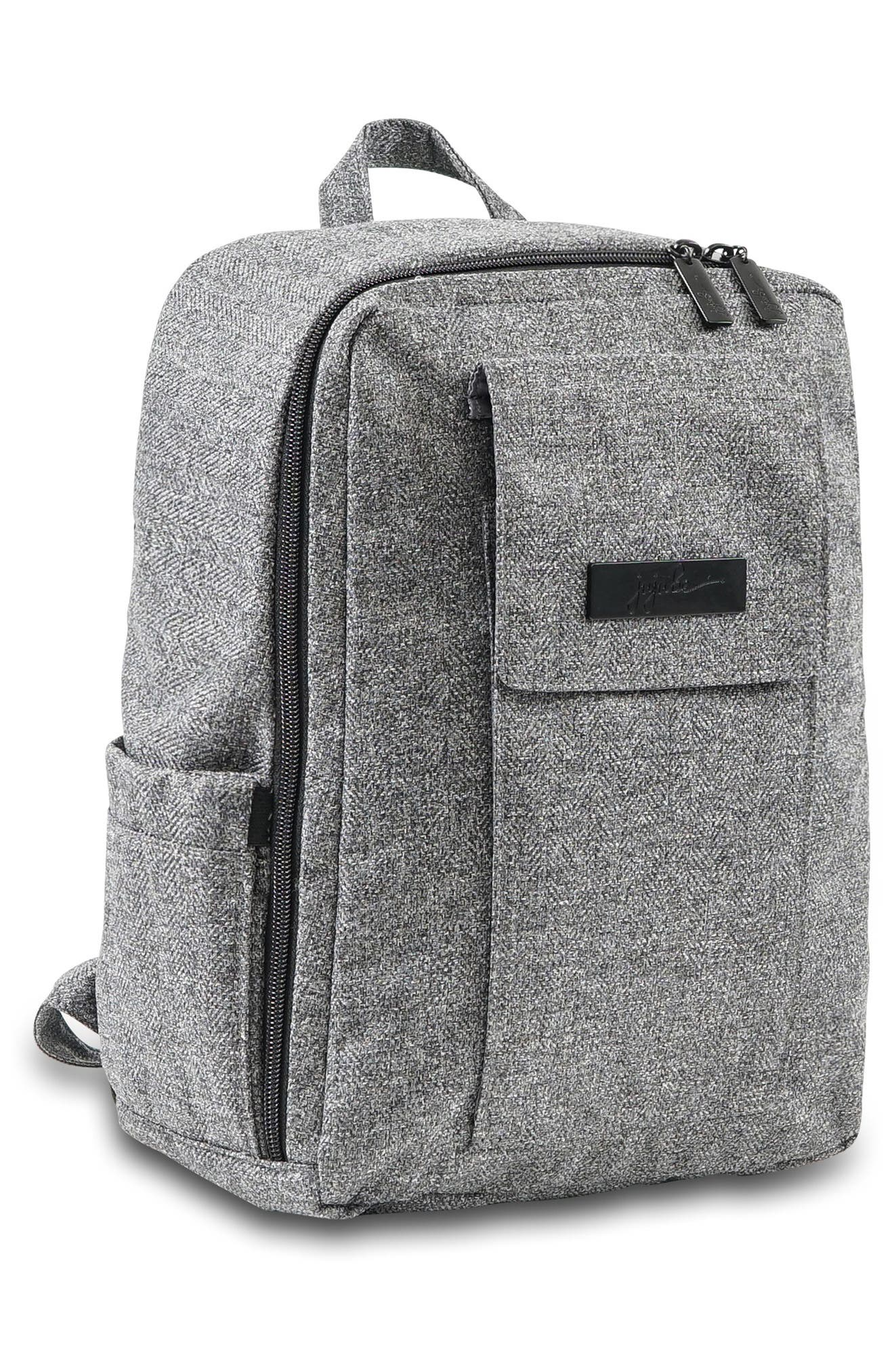 'Mini Be - Onyx Collection' Backpack,                             Alternate thumbnail 5, color,                             GRAY MATTER