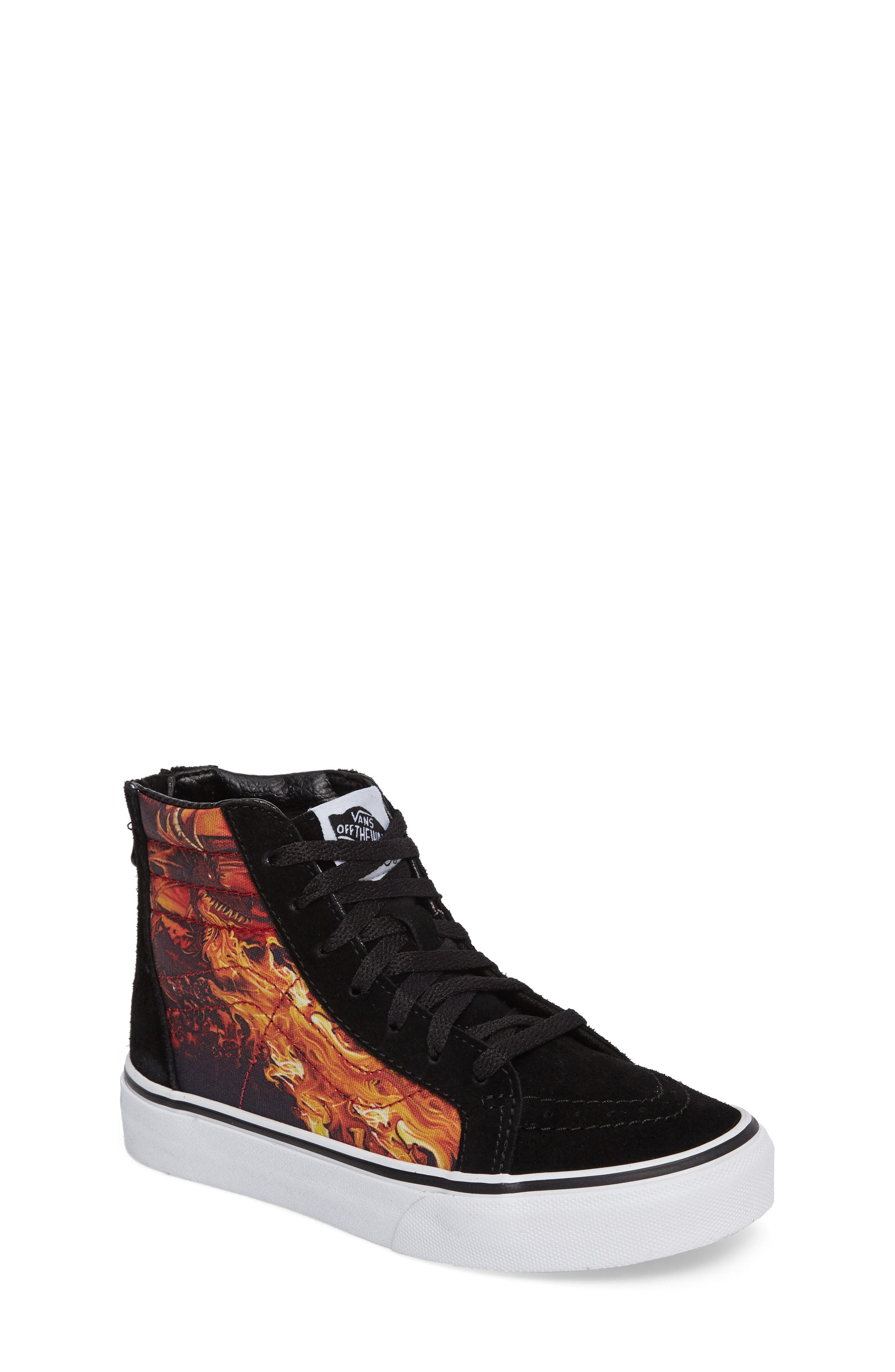SK8-Hi Dragon Zip Sneaker,                         Main,                         color,