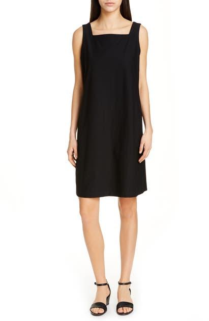 Eileen Fisher Dresses SQUARE NECK SHIFT DRESS