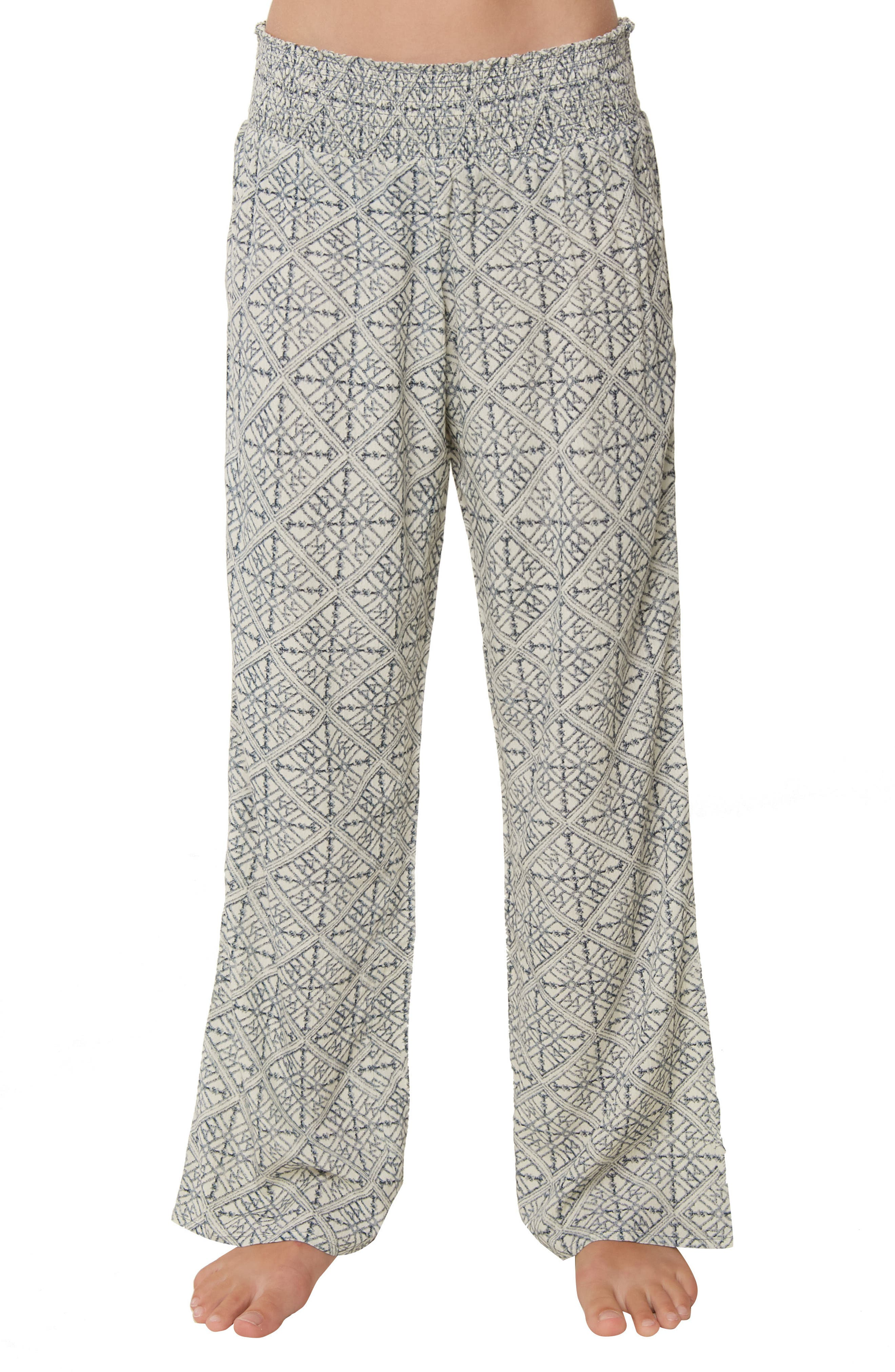 Joanna Geo Print Pants,                             Alternate thumbnail 3, color,                             EVENTIDE