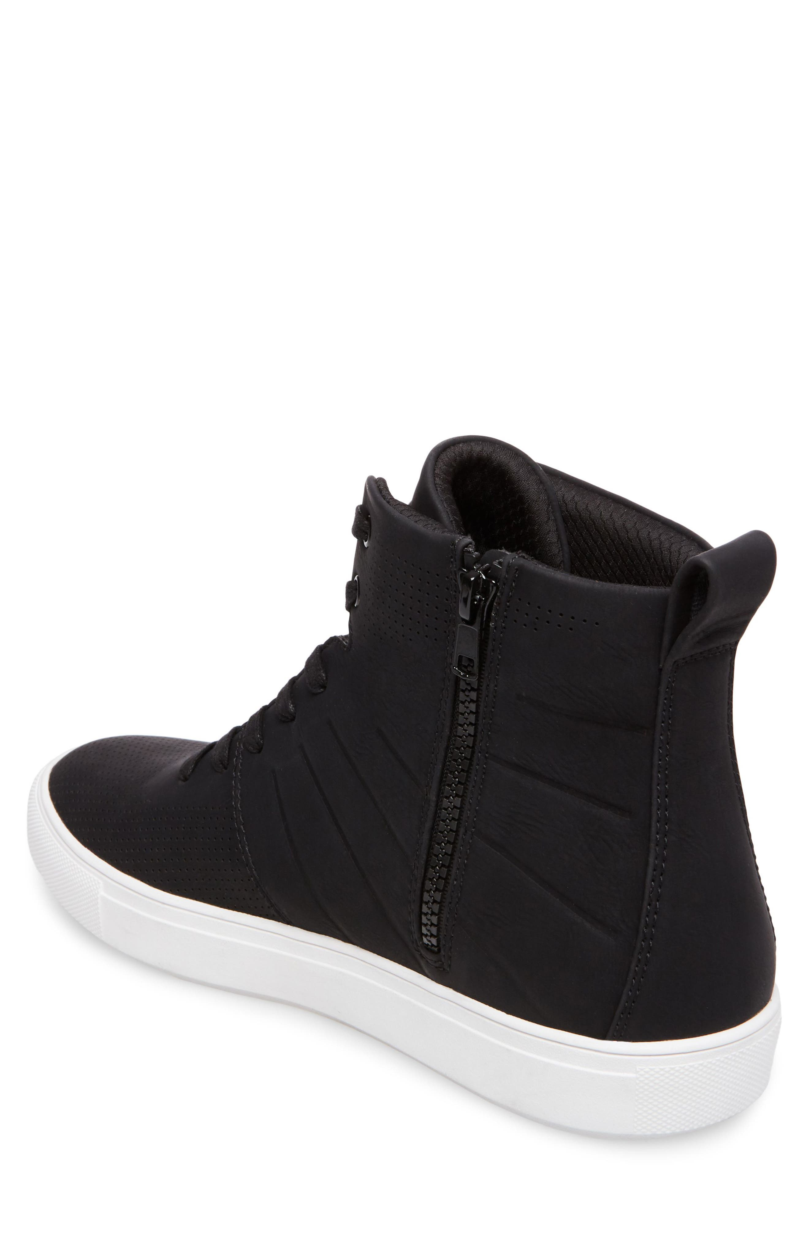 Eskape Sneaker,                             Alternate thumbnail 2, color,                             BLACK