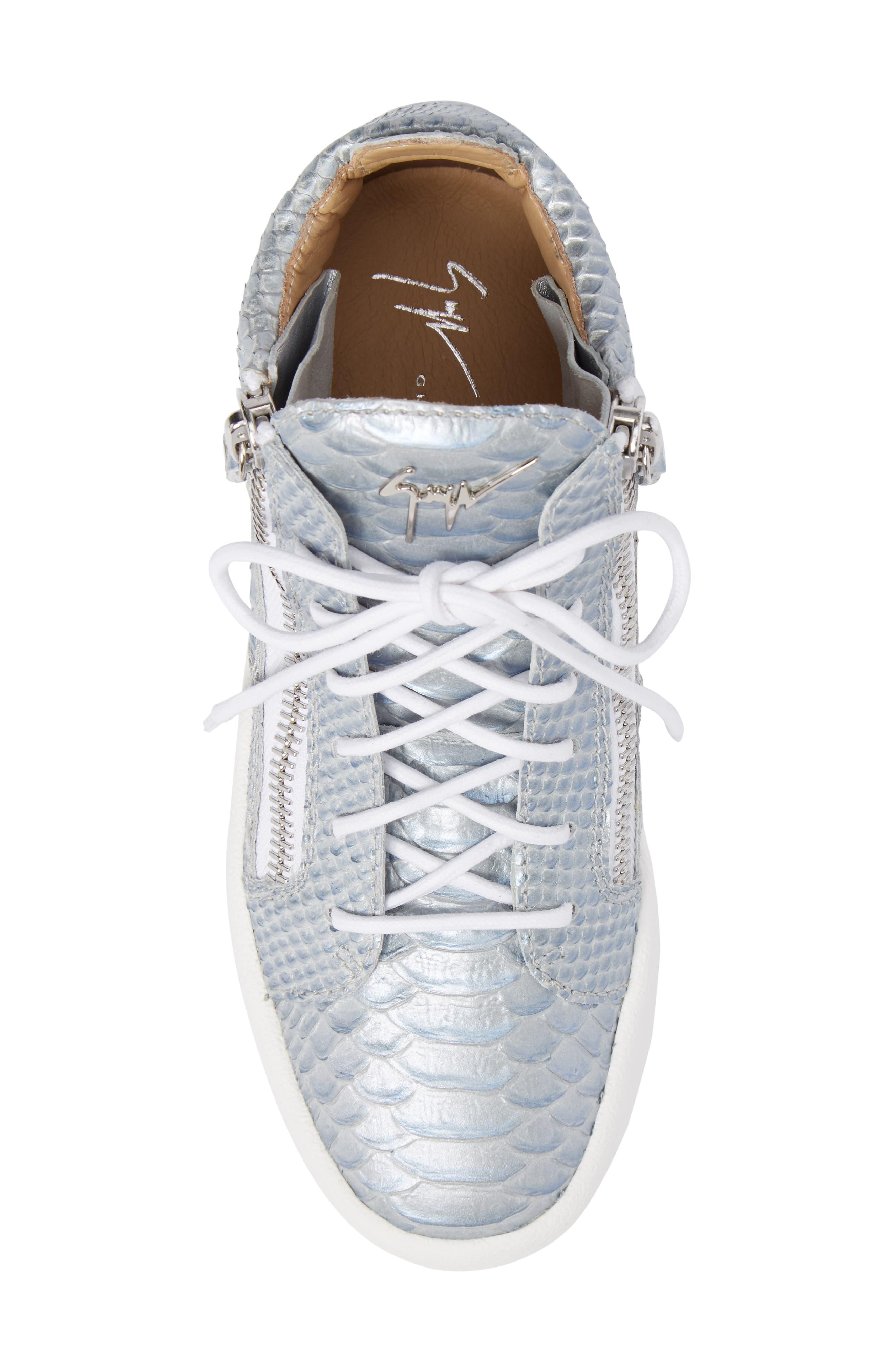 May London Mid Top Sneaker,                             Alternate thumbnail 5, color,                             020