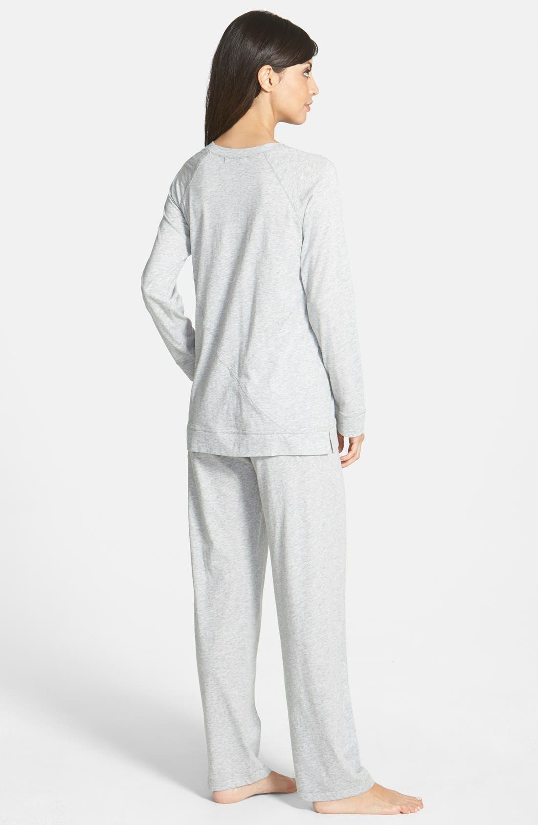Donna Karan Pima Cotton Pajamas,                             Alternate thumbnail 2, color,                             031