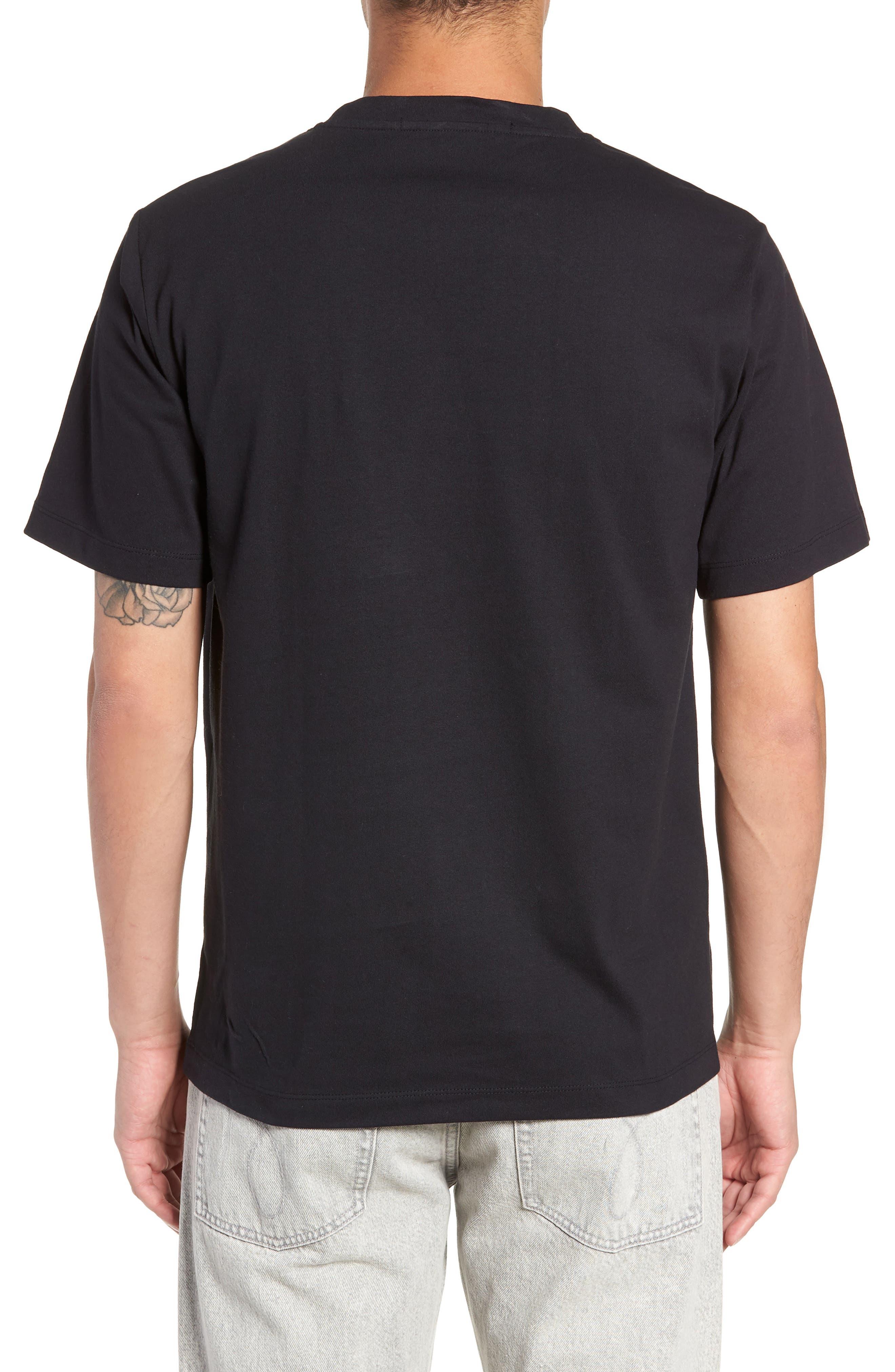 Bandanna Graphic T-Shirt,                             Alternate thumbnail 2, color,                             BLACK