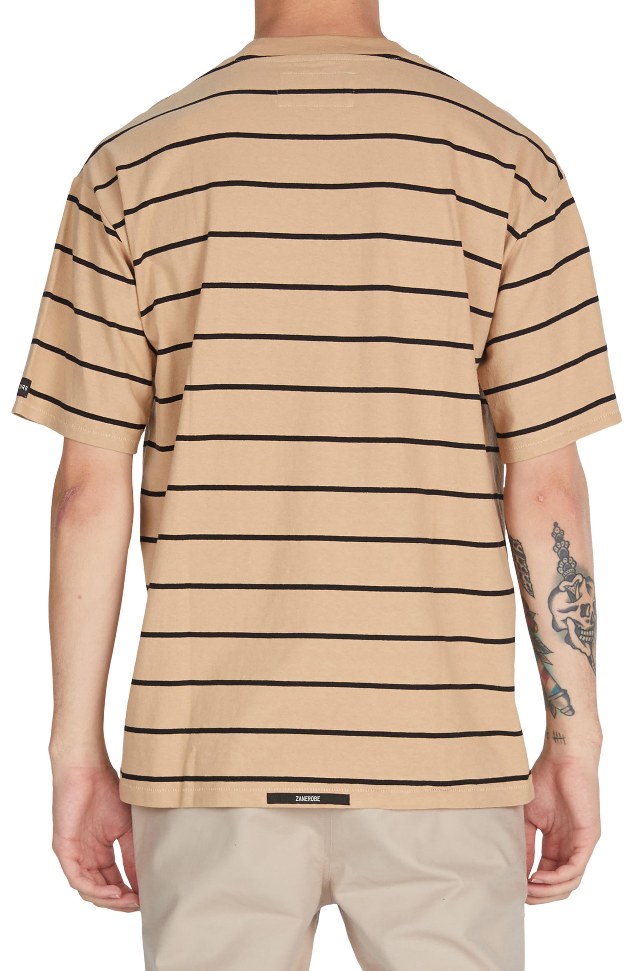 Stripe Box T-Shirt,                             Alternate thumbnail 2, color,                             273