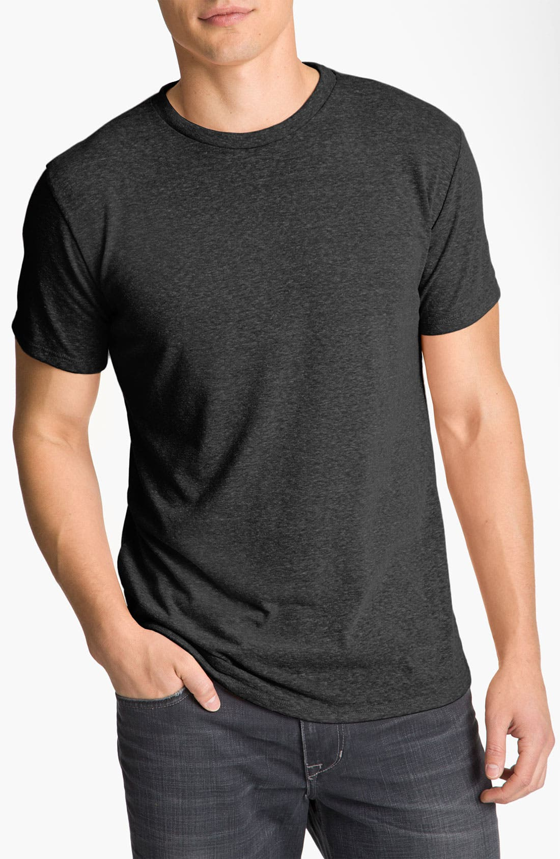 Threads for Thought Heathered Crew Neck,                             Main thumbnail 9, color,