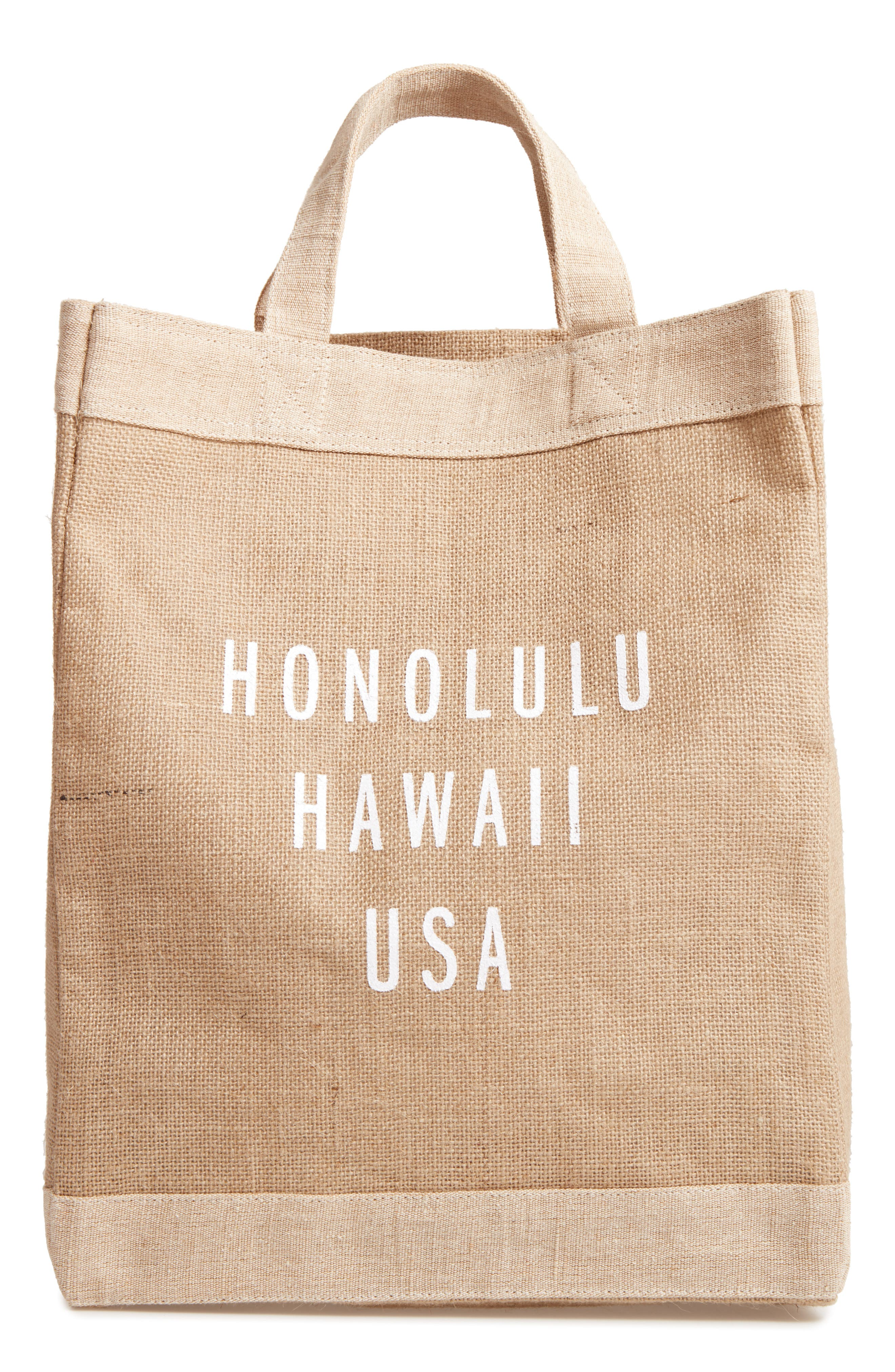 Honolulu Simple Market Bag,                             Main thumbnail 1, color,