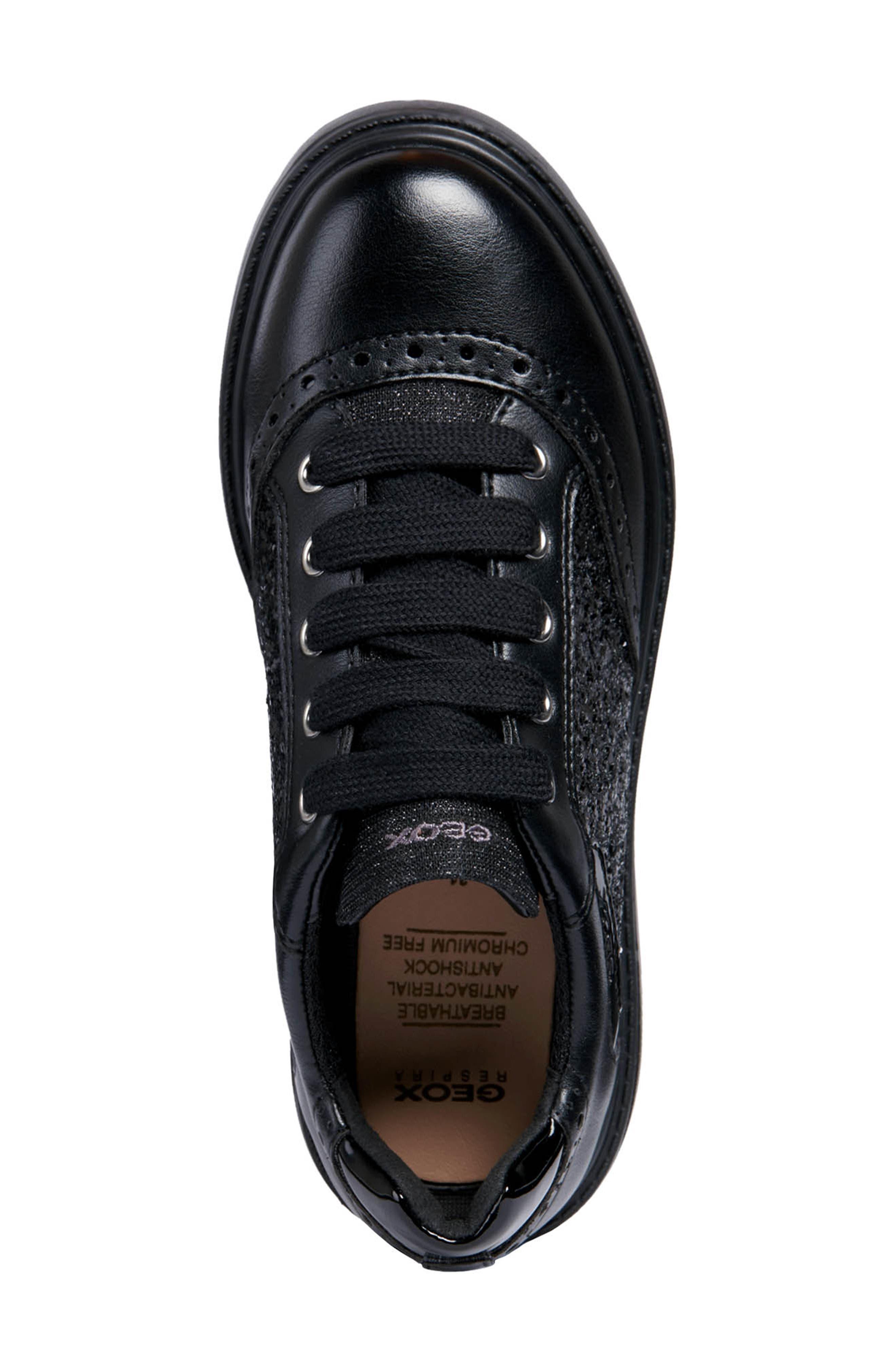 Thymar Sequin Sneaker,                             Alternate thumbnail 5, color,                             BLACK