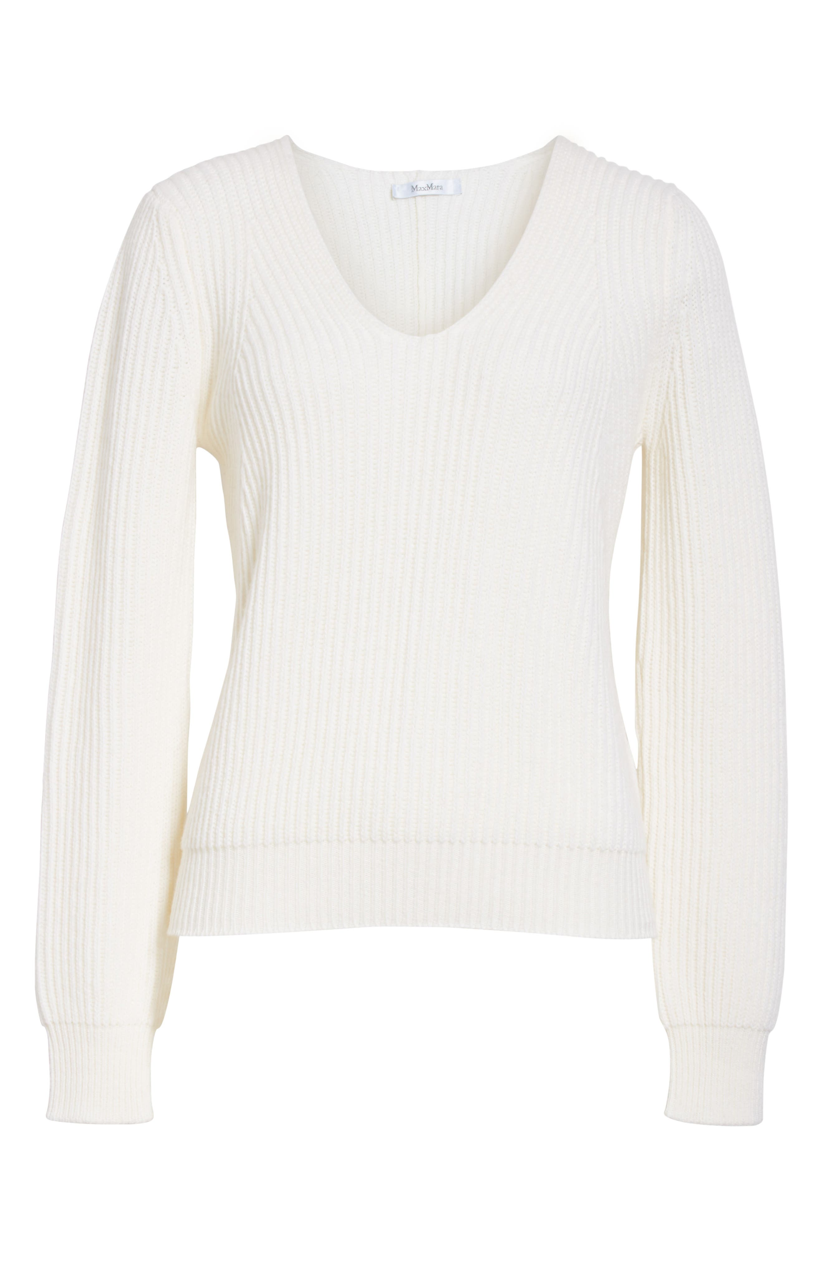 Sax Wool & Cashmere Sweater,                             Alternate thumbnail 6, color,                             900