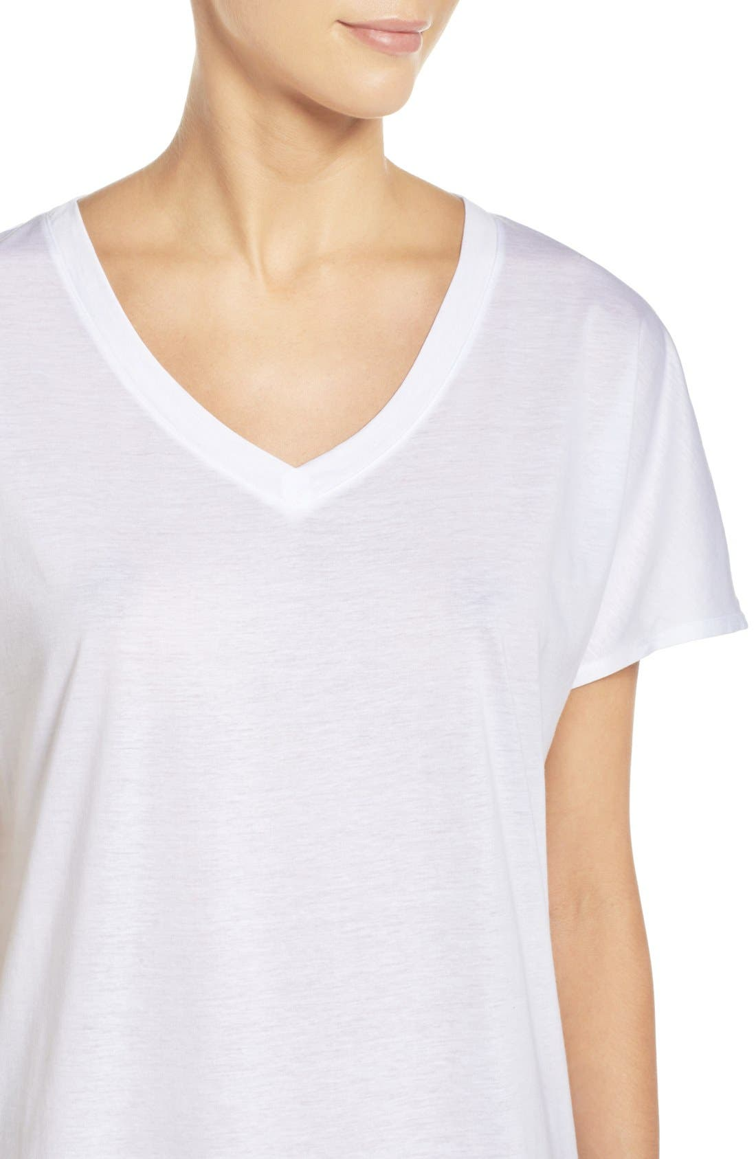 Laura Jersey Sleep Shirt,                             Alternate thumbnail 8, color,