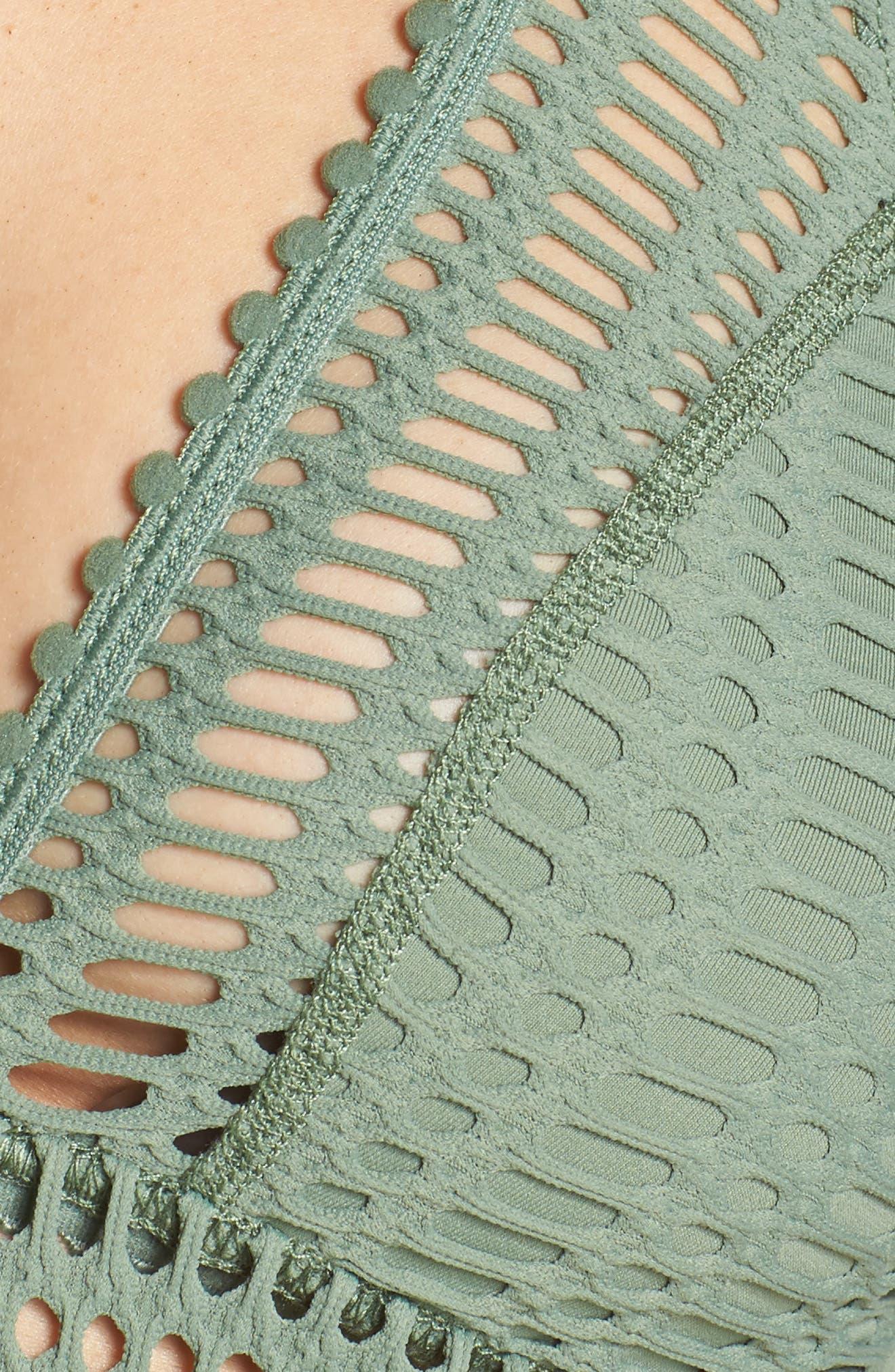 'Sophia' Crochet Halter Bikini Top,                             Alternate thumbnail 21, color,