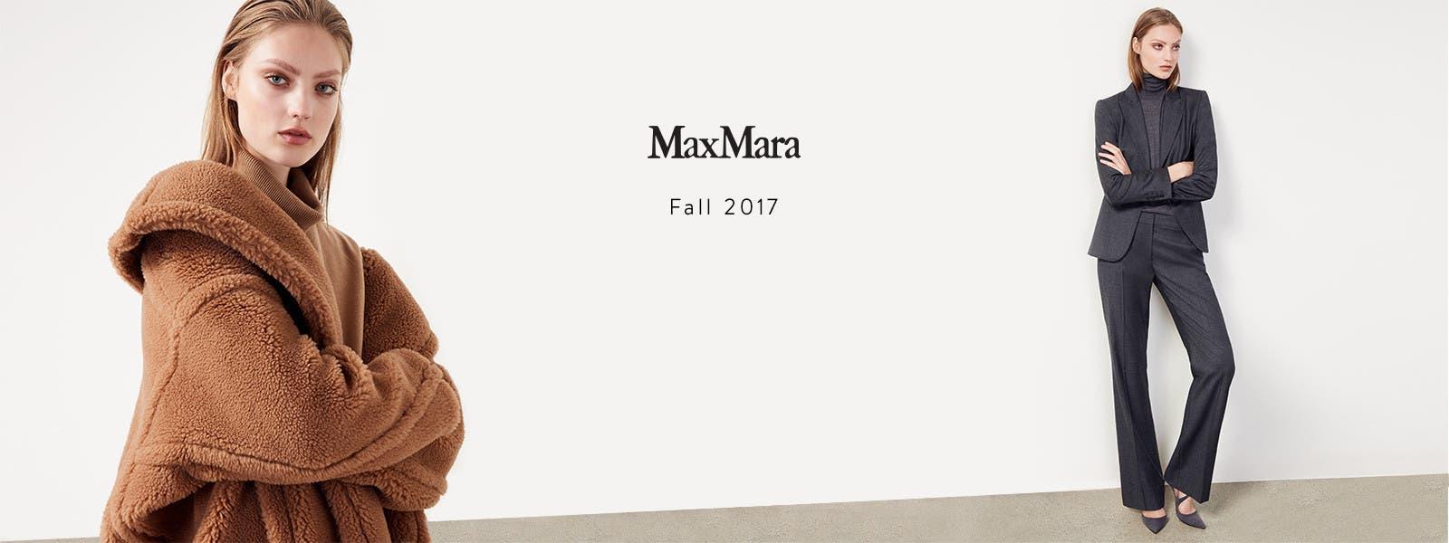 Max Mara fall 2017.