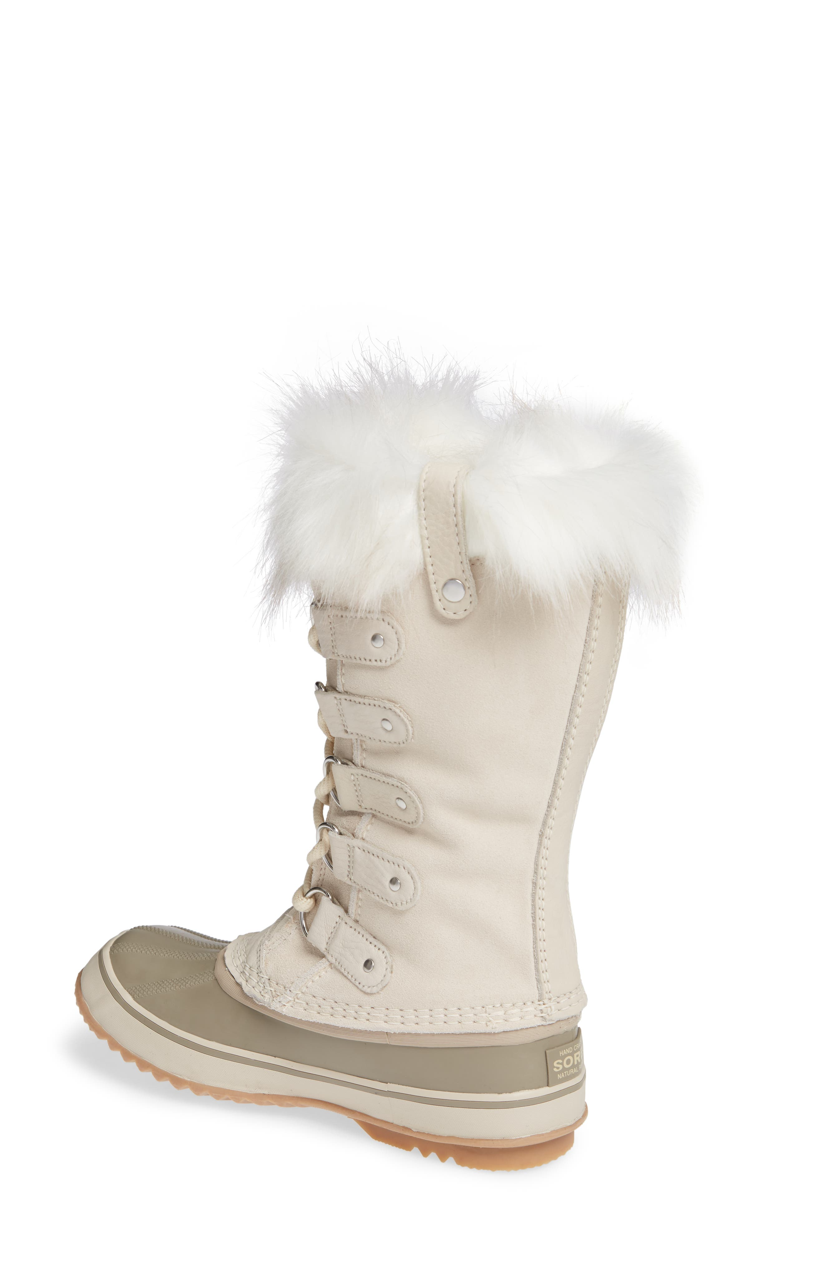 'Joan of Arctic' Waterproof Snow Boot,                             Alternate thumbnail 2, color,                             FAWN