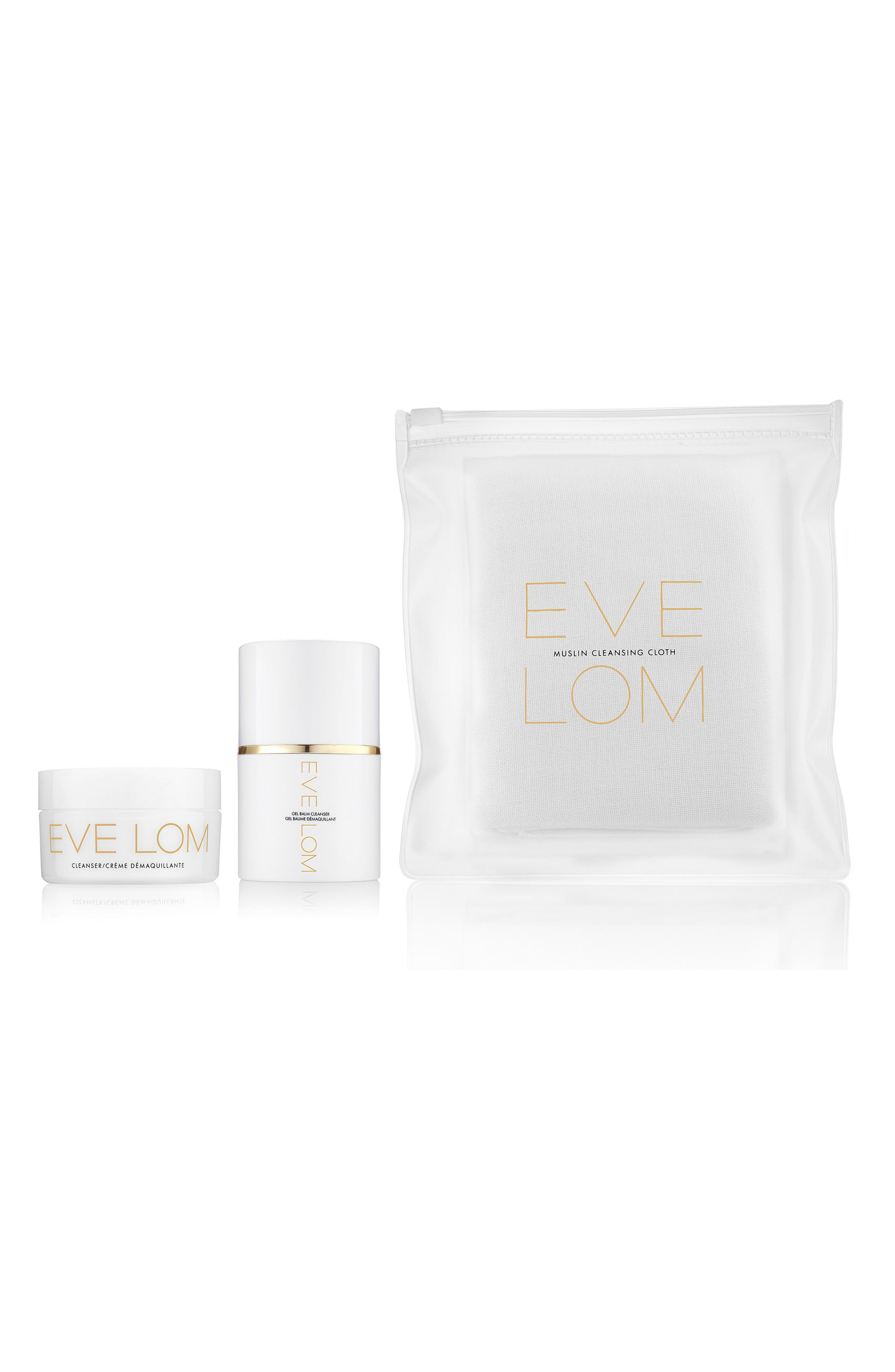 SPACE.NK.apothecary EVE LOM Ultimate Cleanse Set,                             Main thumbnail 1, color,                             000