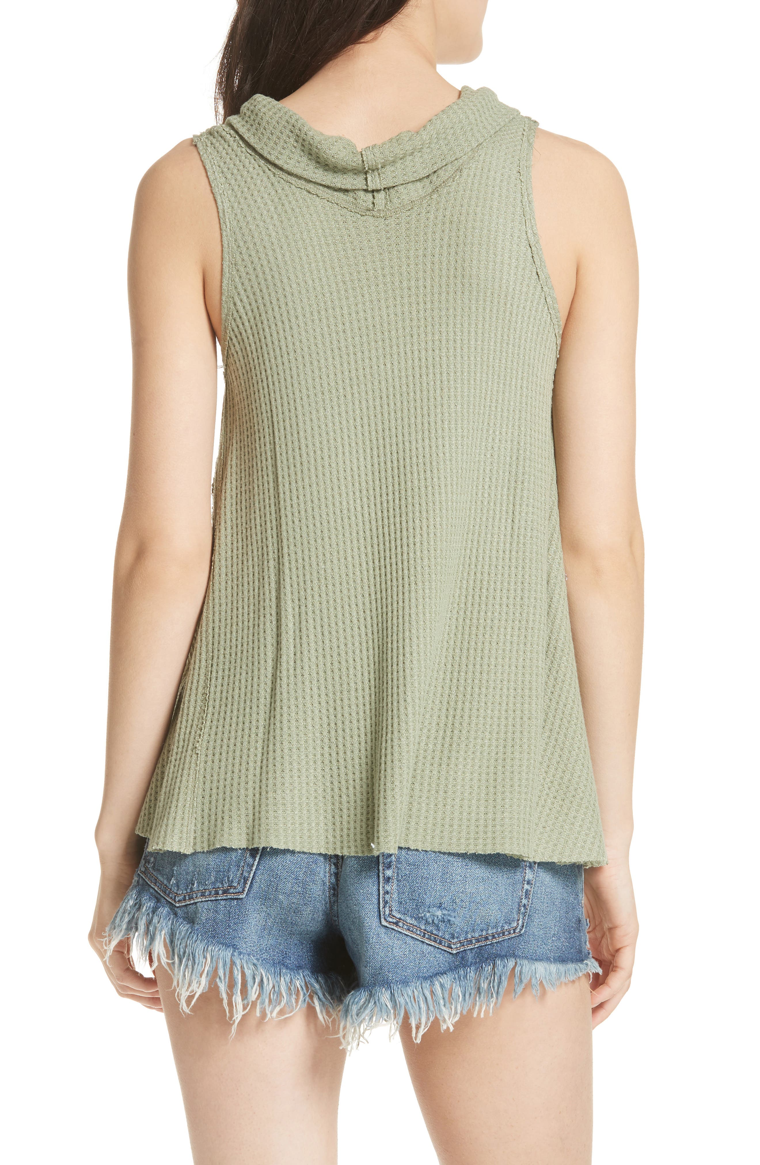 We the Free by Free People Swing It Cowl Tank,                             Alternate thumbnail 7, color,