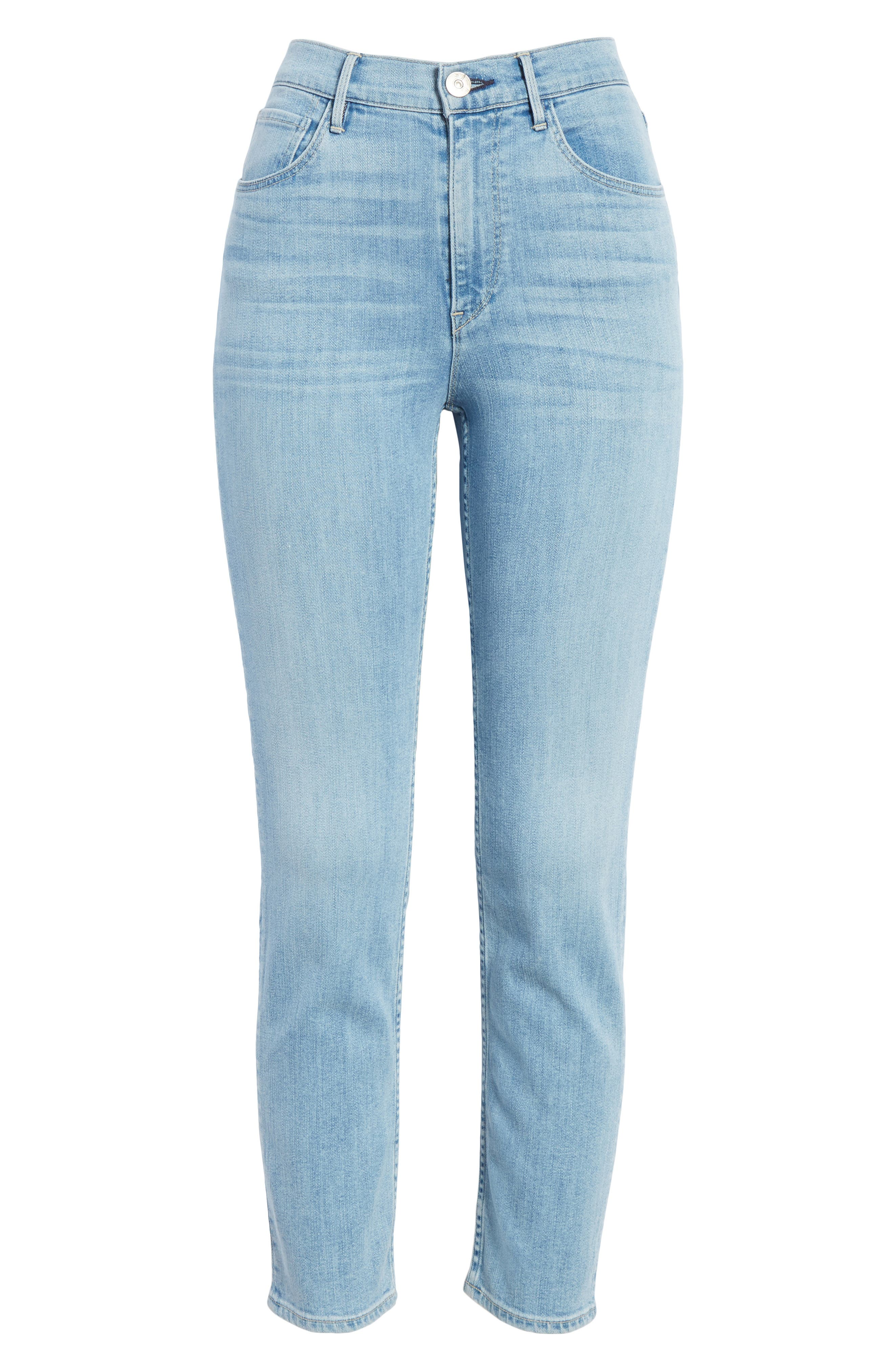 W4 Colette Crop Skinny Jeans,                             Alternate thumbnail 6, color,                             CARLO