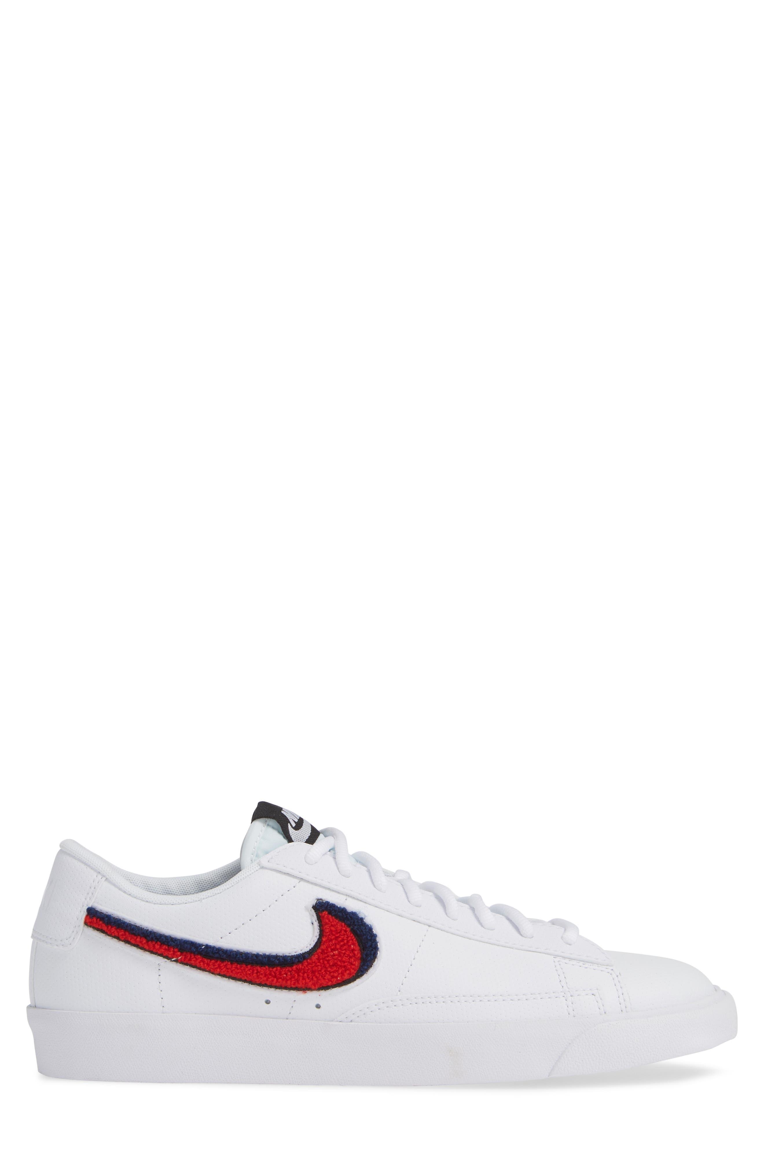 Blazer Low 3D Sneaker,                             Alternate thumbnail 3, color,                             100