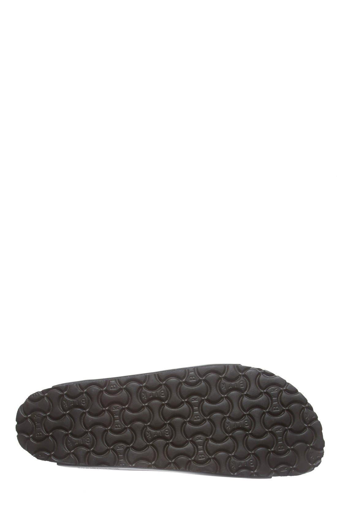 Monterey Leather Slide Sandal,                             Alternate thumbnail 3, color,                             001