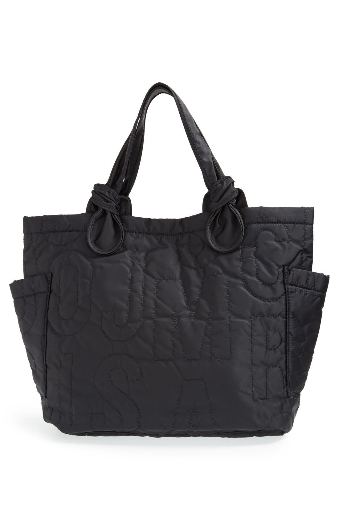 MARC JACOBS,                             MARC BY MARC JACOBS 'Medium Pretty Nylon Tate' Tote,                             Alternate thumbnail 5, color,                             001