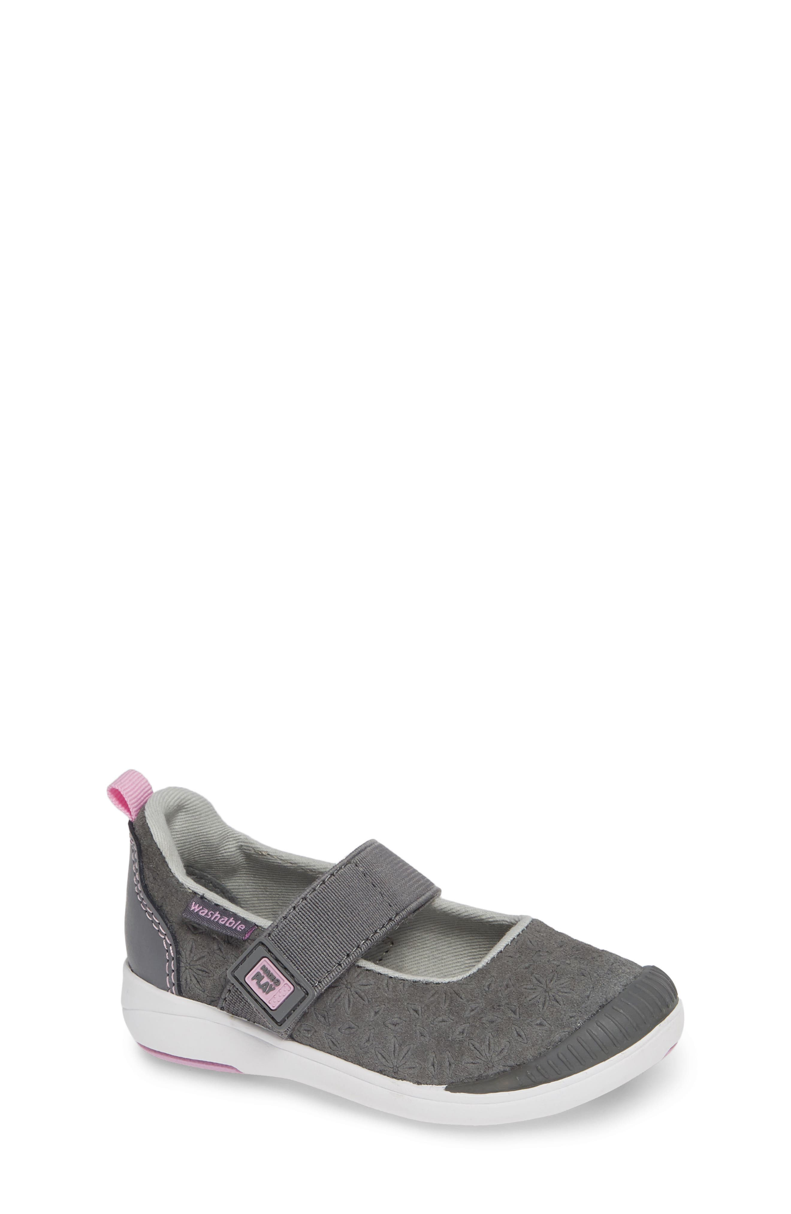 Made2Play<sup>®</sup> Lia Washable Mary Jane Sneaker,                         Main,                         color, GREY