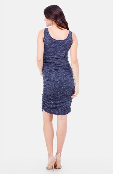 eaeb56be3aa Ingrid   Isabel®  Marble  Ruched Maternity Dress