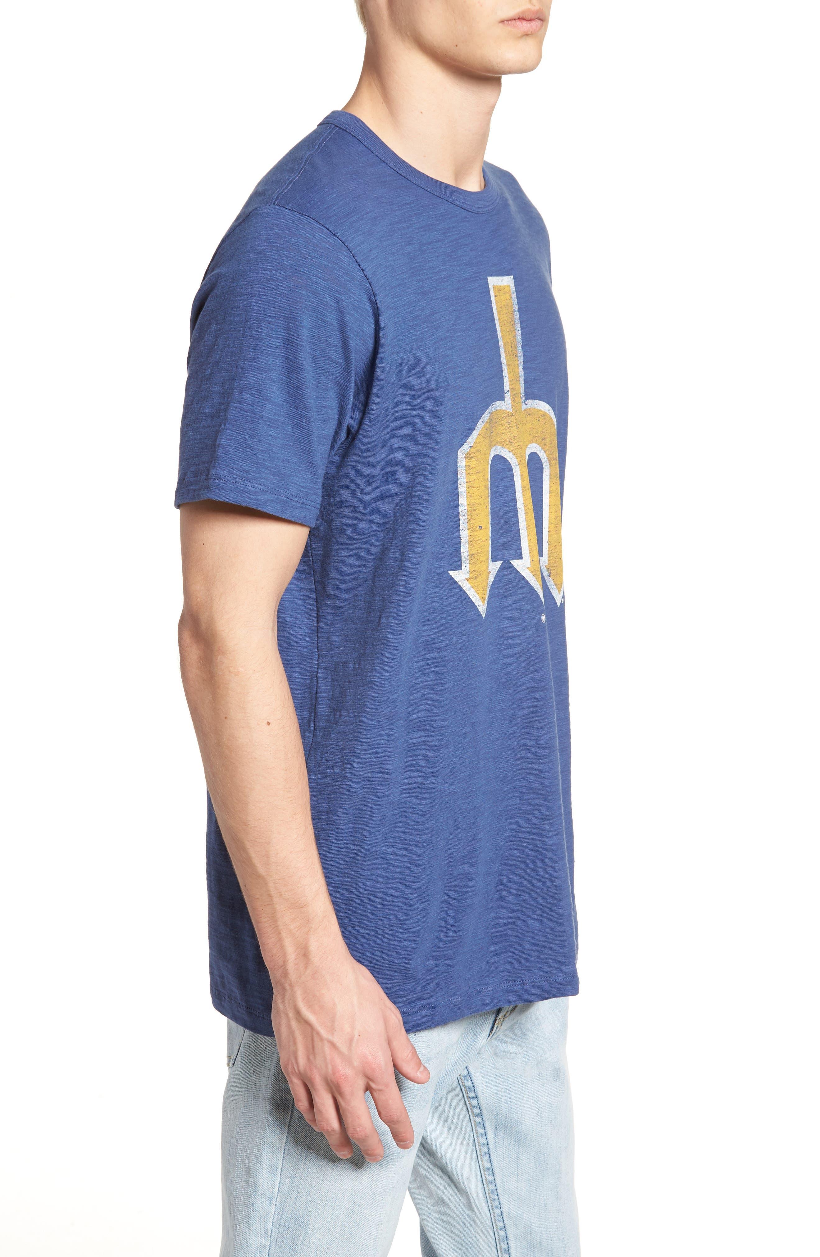 MLB Grit Scrum Seattle Mariners T-Shirt,                             Alternate thumbnail 3, color,                             400