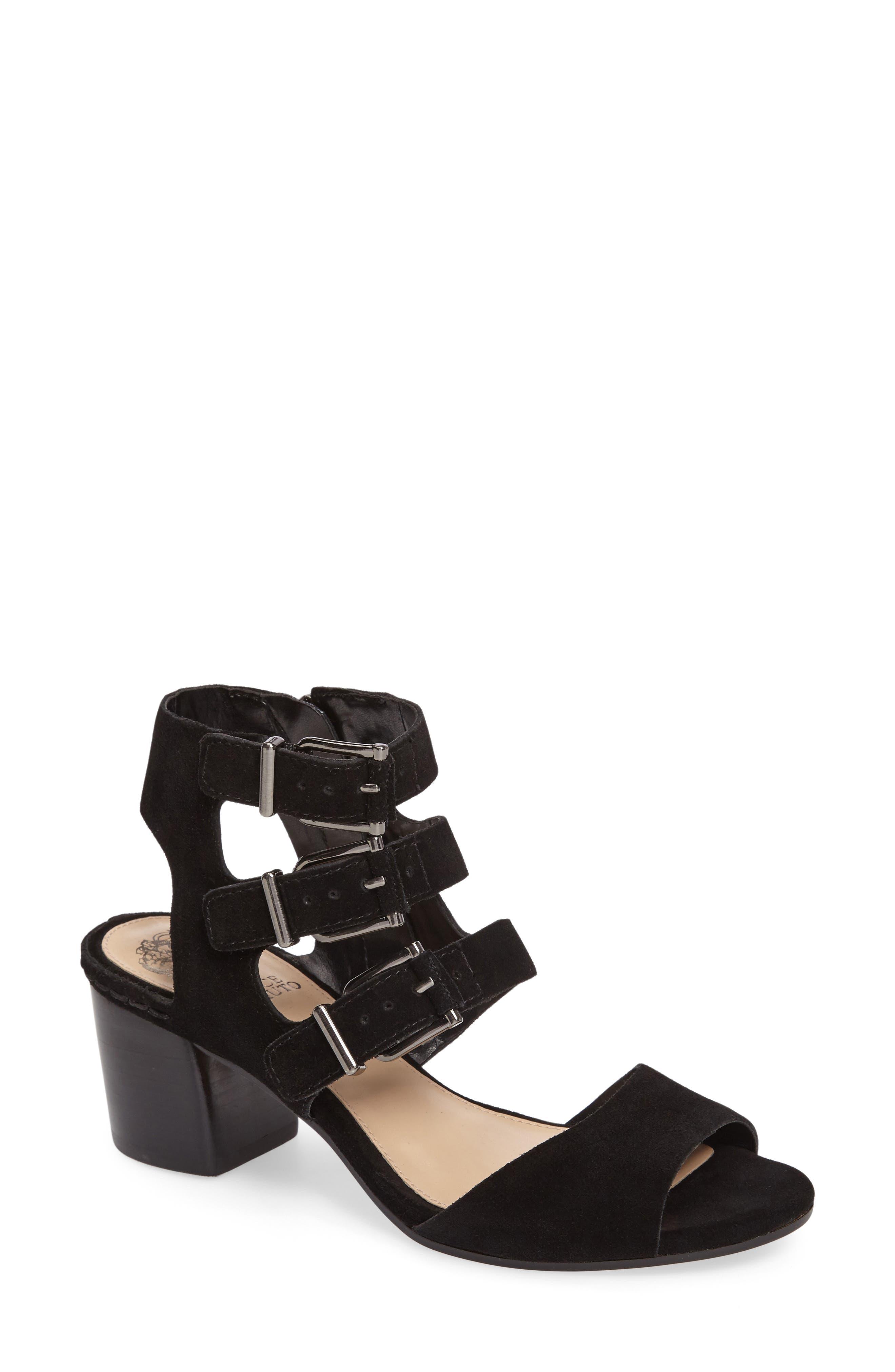 Geriann Strappy Slingback Sandal,                         Main,                         color, 001
