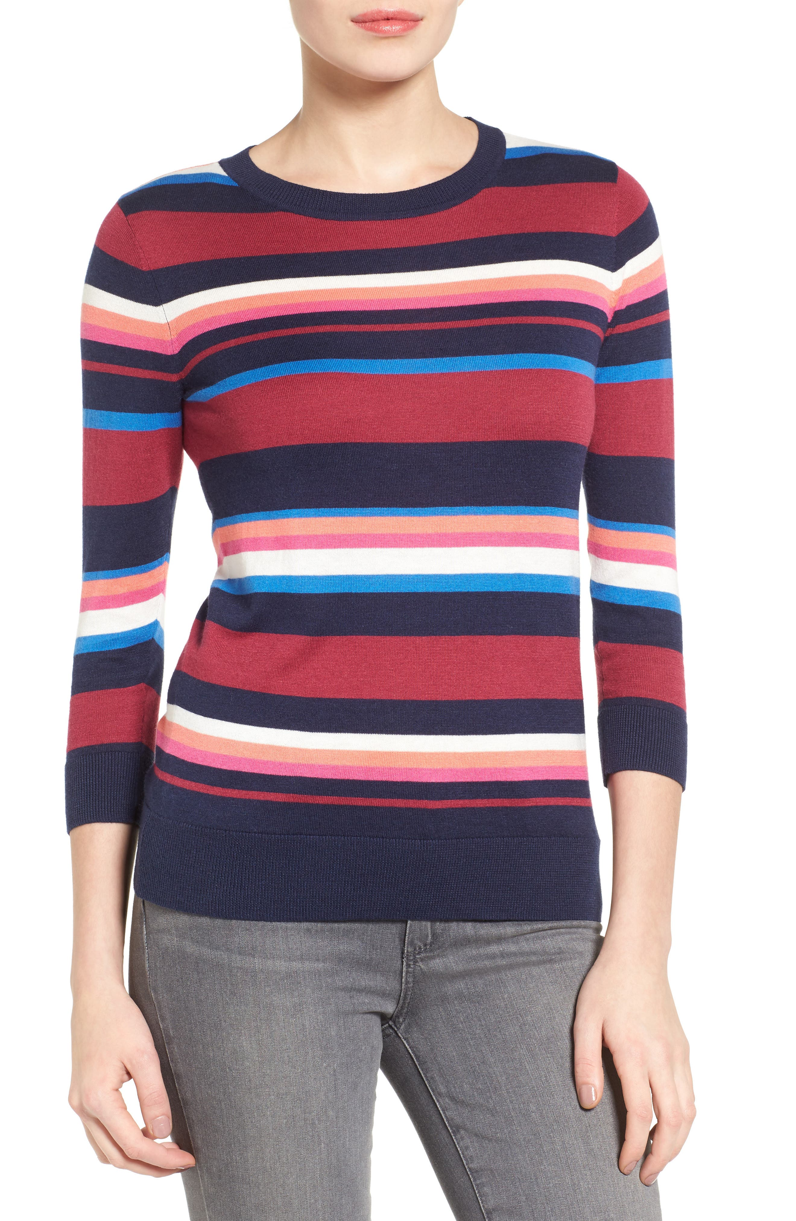 Cotton Blend Pullover,                             Main thumbnail 30, color,