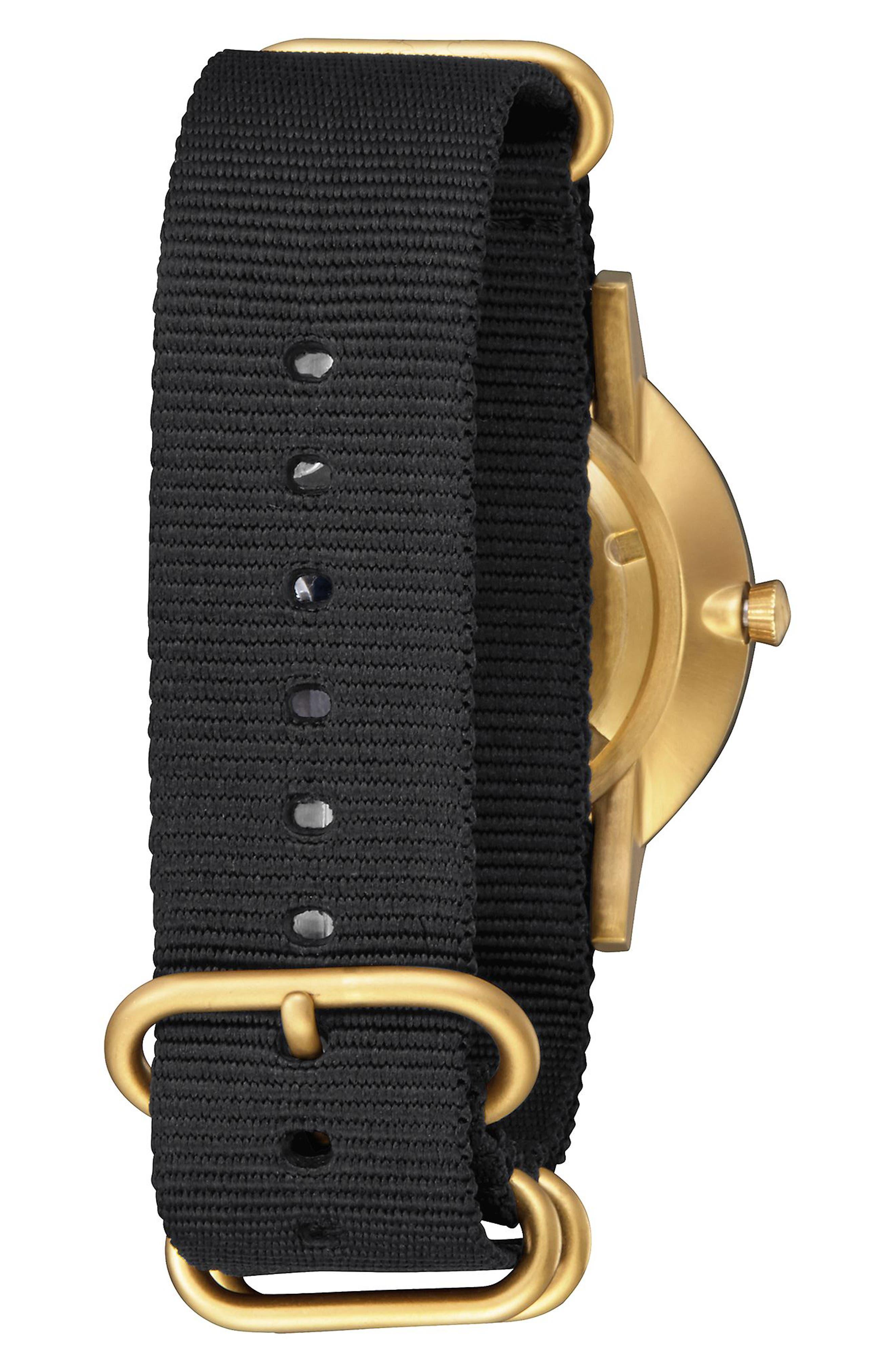 Porter Nylon Strap Watch, 40mm,                             Alternate thumbnail 7, color,