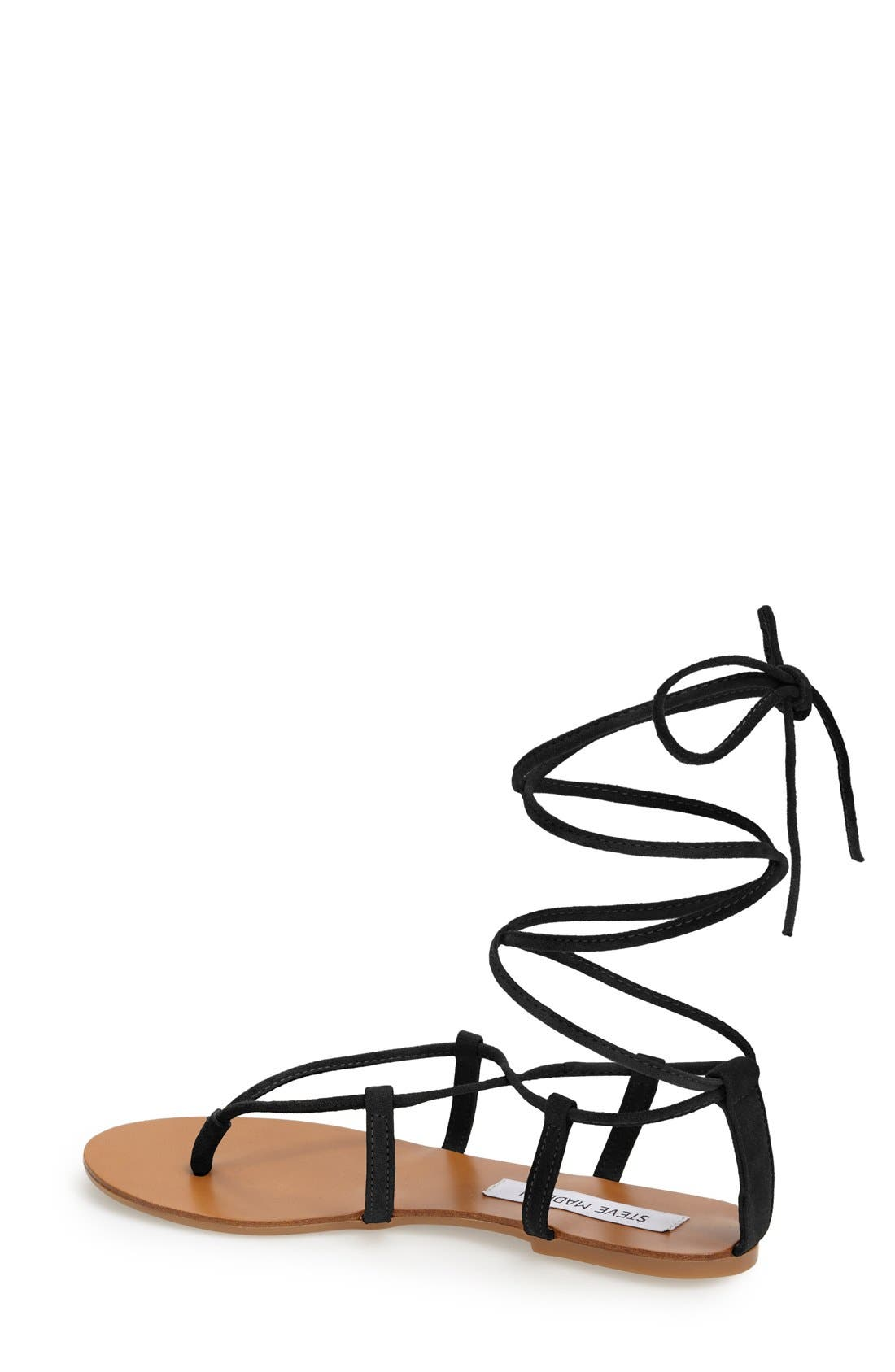 'Werkit' Gladiator Sandal,                             Alternate thumbnail 2, color,                             001