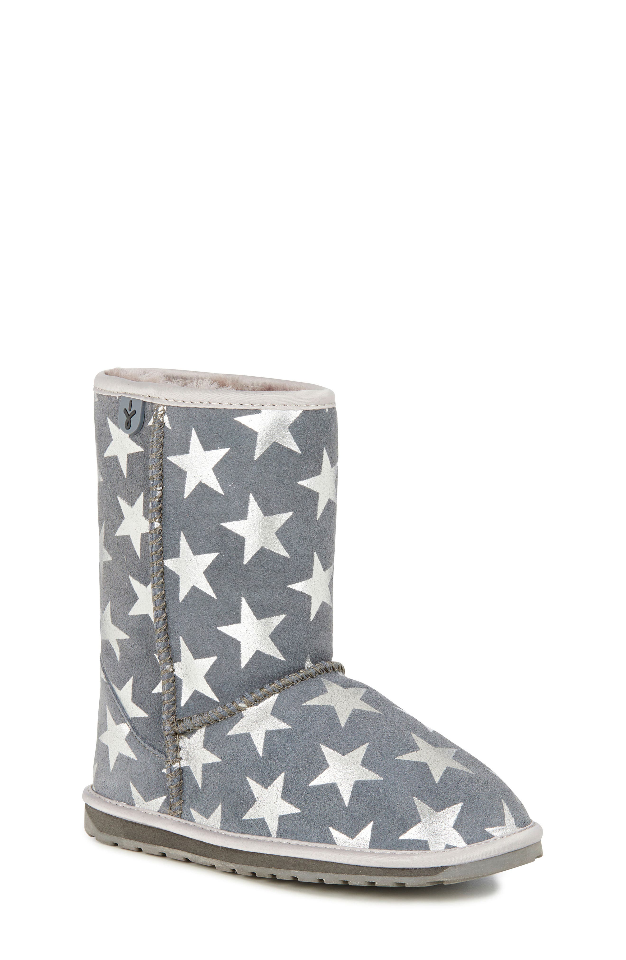 EMUAustralia Starry Night Boot,                         Main,                         color, CHARCOAL