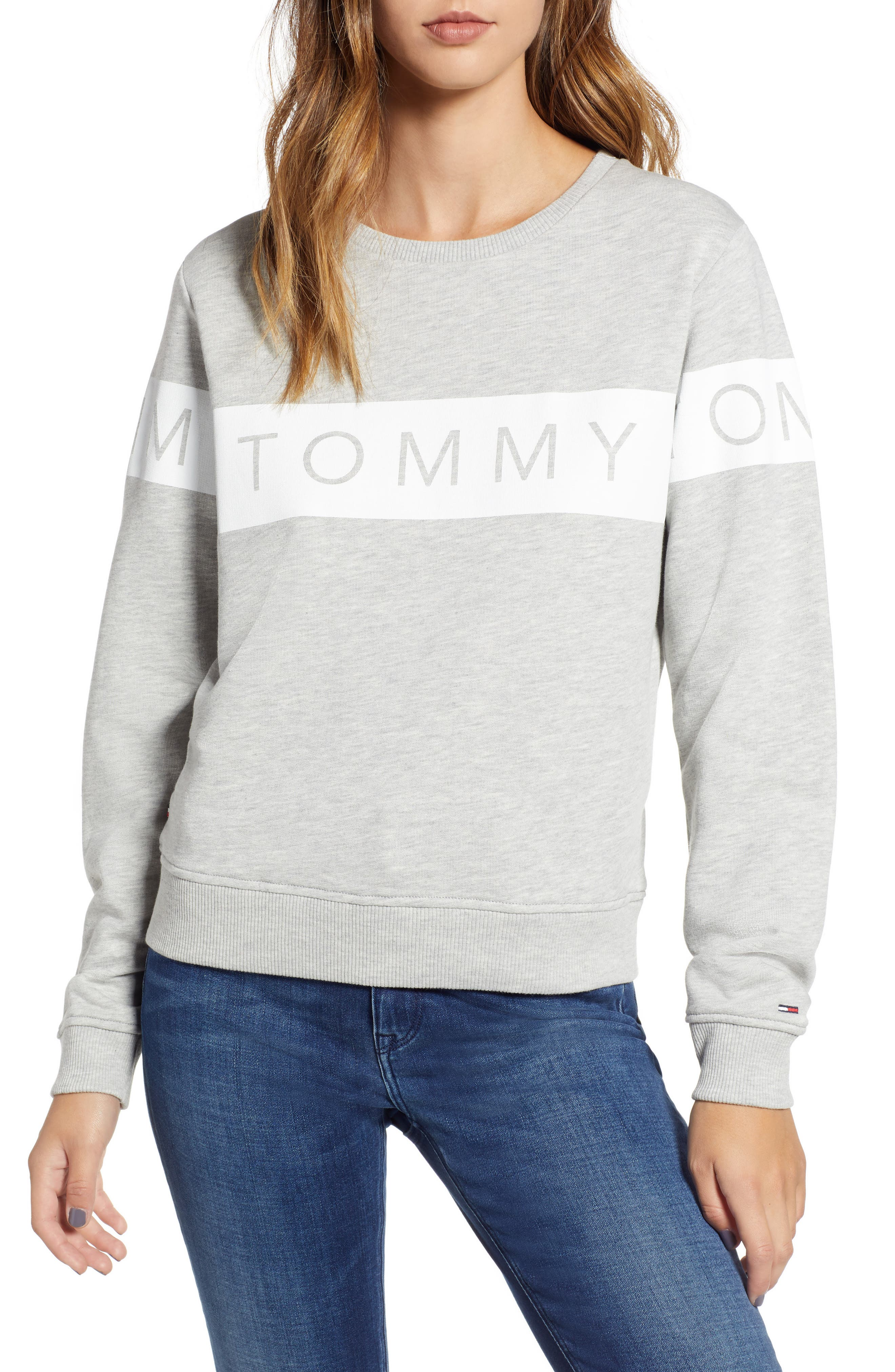 Logo Sweatshirt,                             Main thumbnail 1, color,                             020