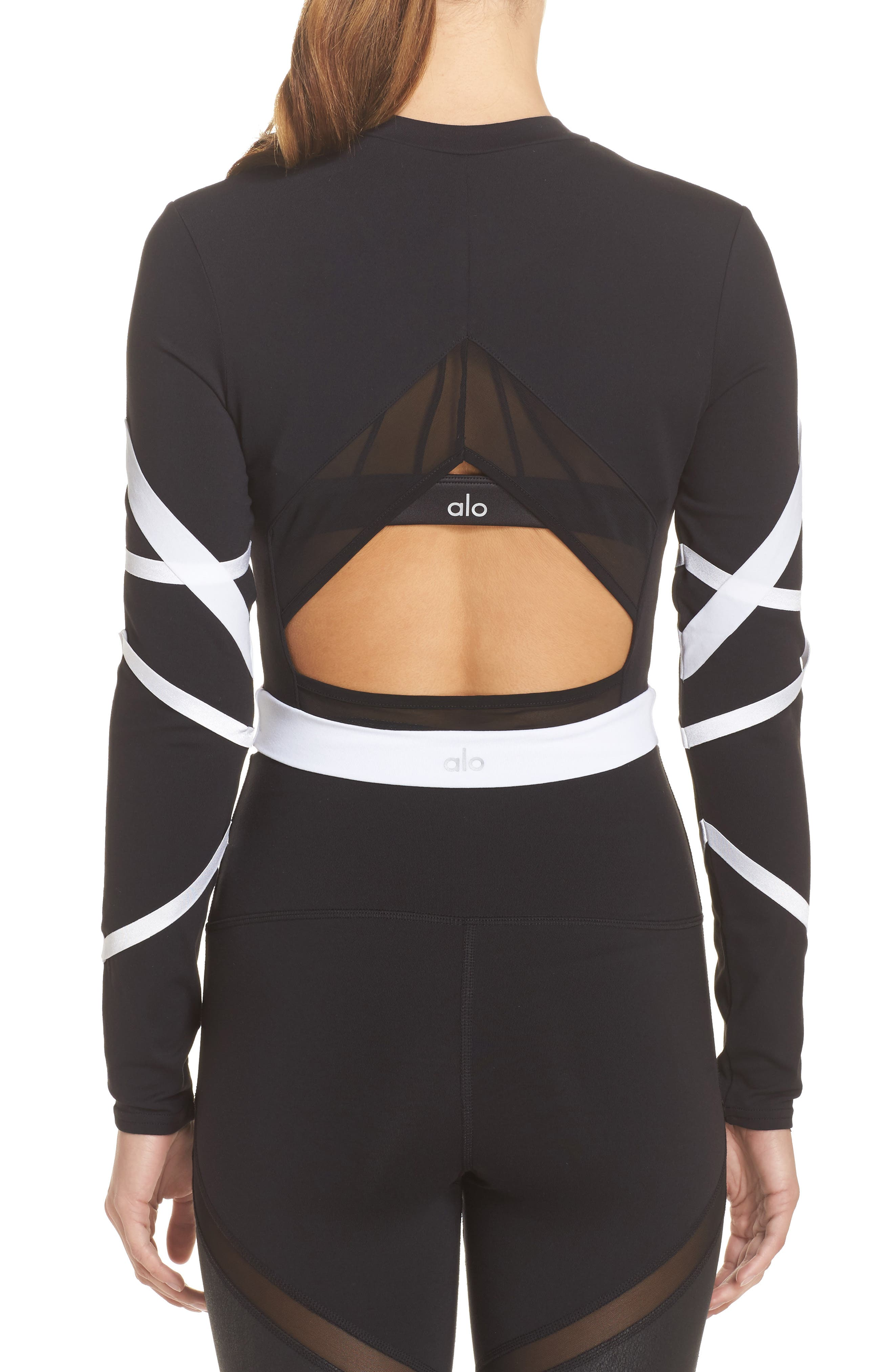 Tribe Long Sleeve Top,                             Alternate thumbnail 6, color,