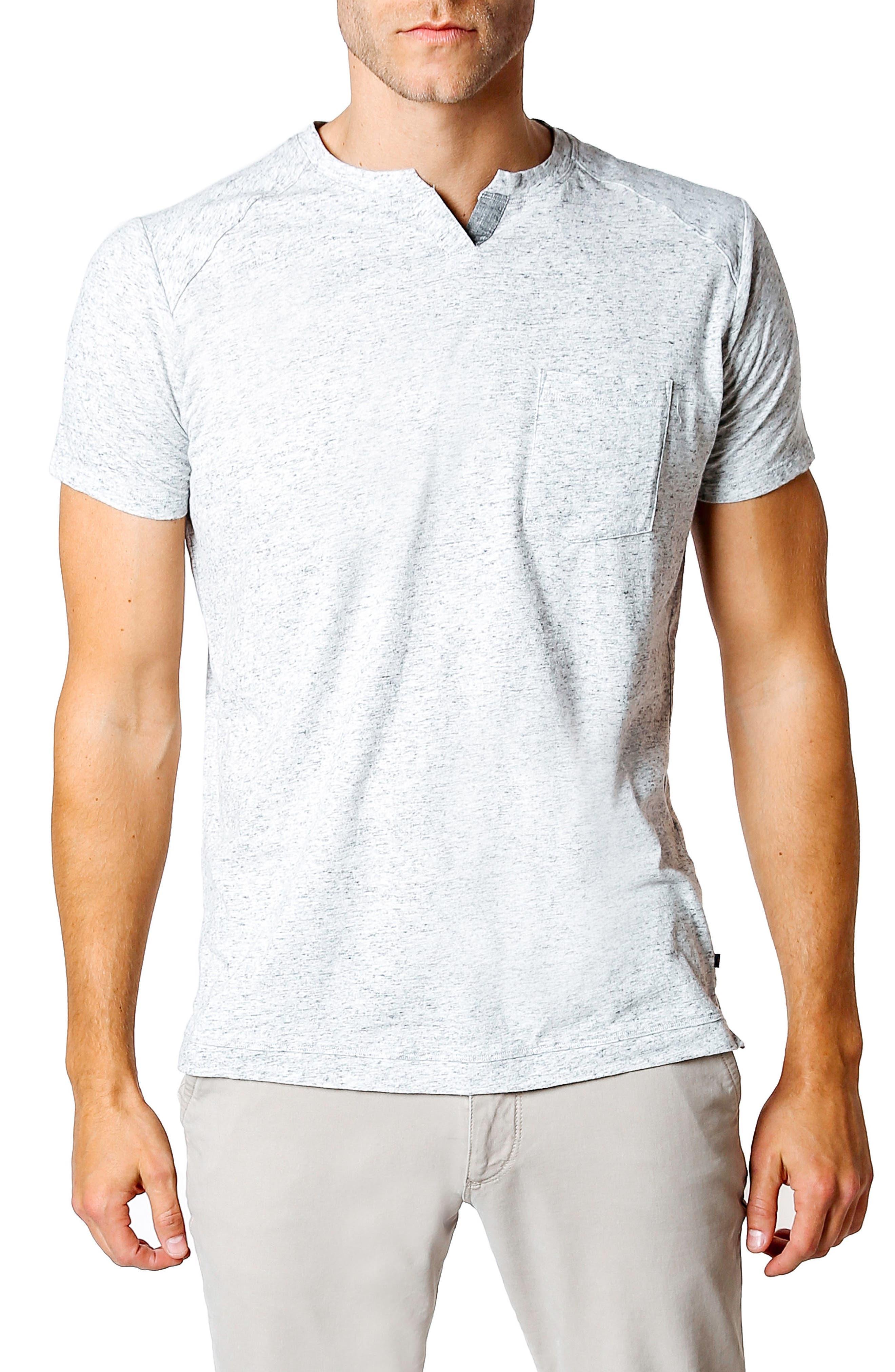 Slim Fit T-Shirt,                         Main,                         color, GREY HEATHER