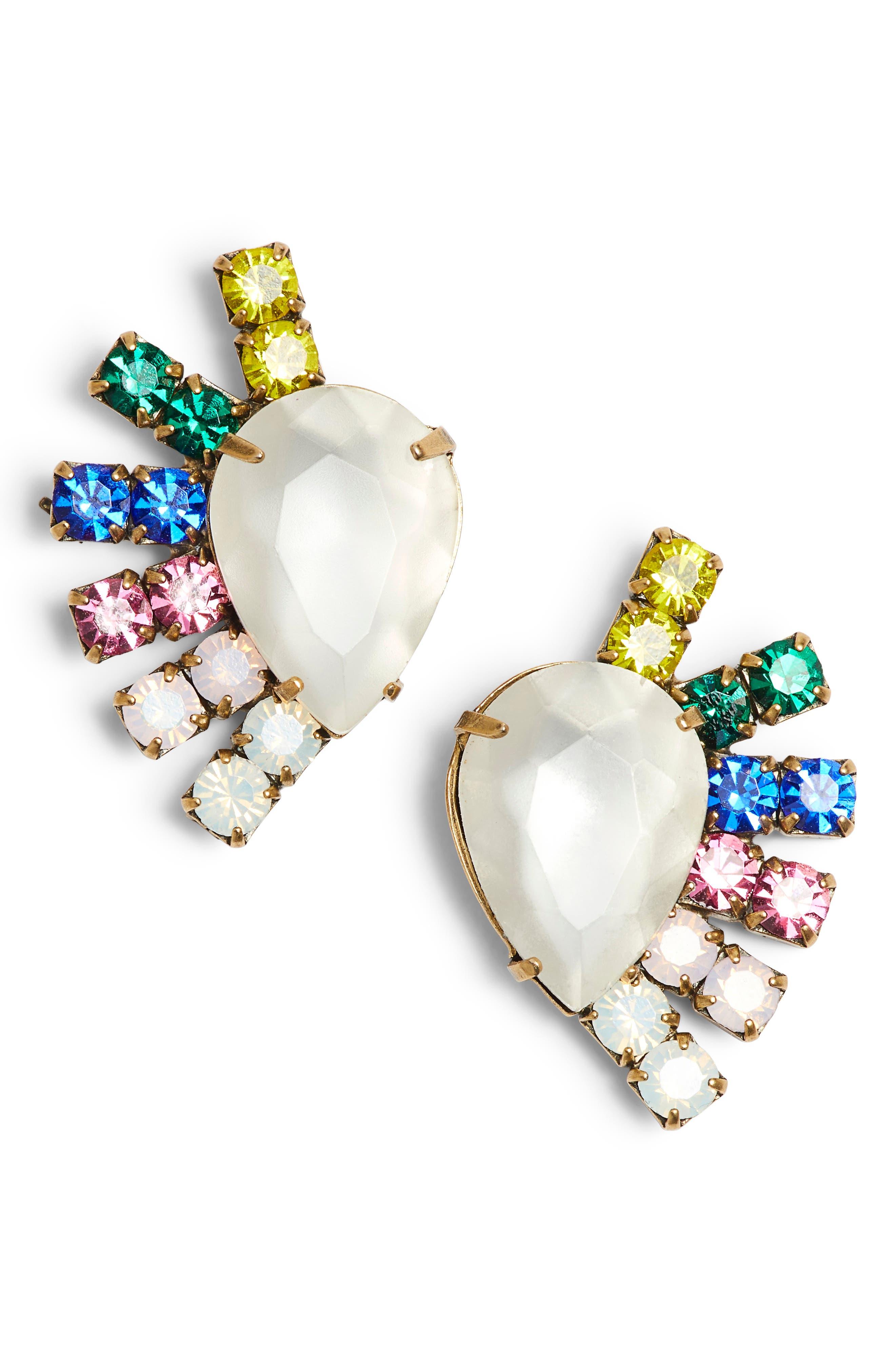Olivia Stud Earrings,                             Main thumbnail 4, color,