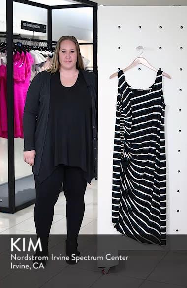 Side Ruched Stripe Tank Dress, sales video thumbnail