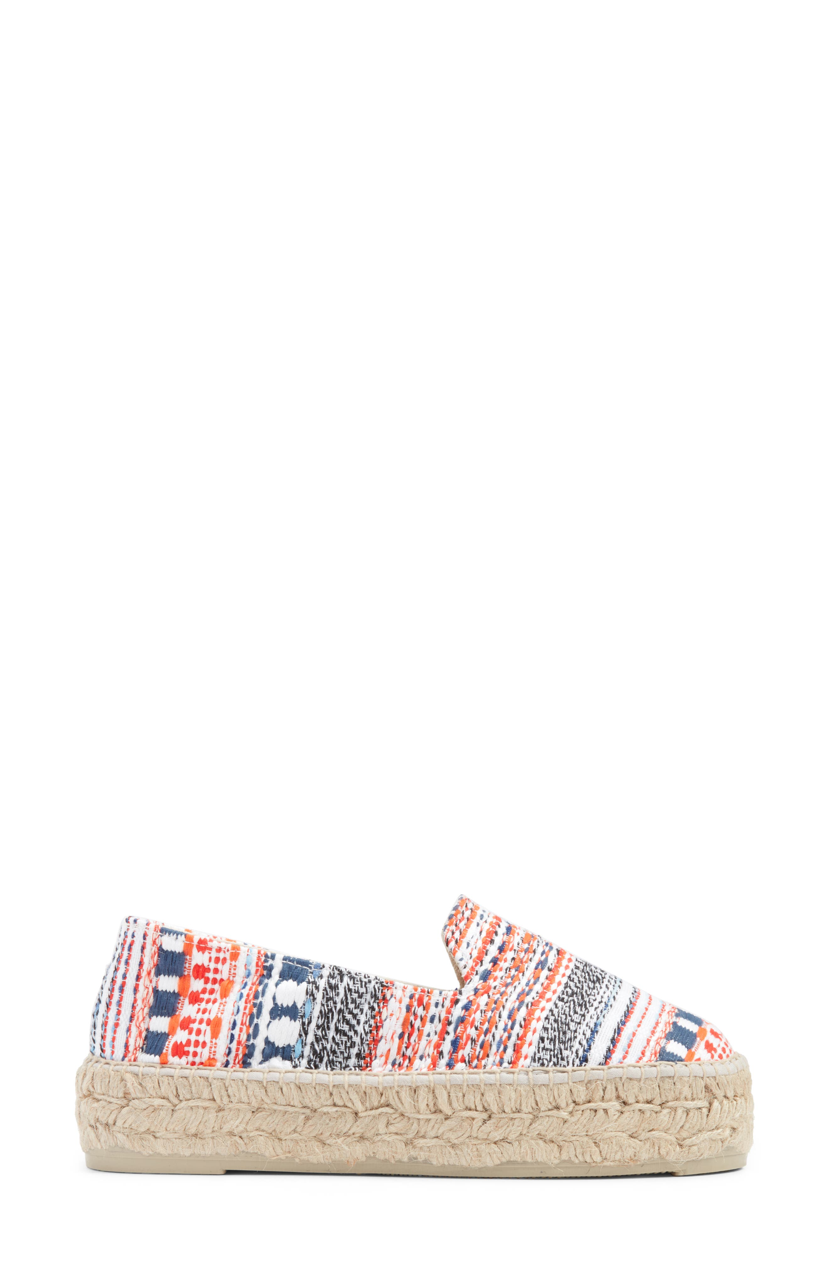 MANEBÍ Yucatan Platform Espadrille Slip-On,                             Alternate thumbnail 3, color,                             420