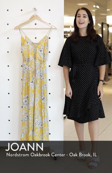 Karina Lace-Up Midi Dress, sales video thumbnail
