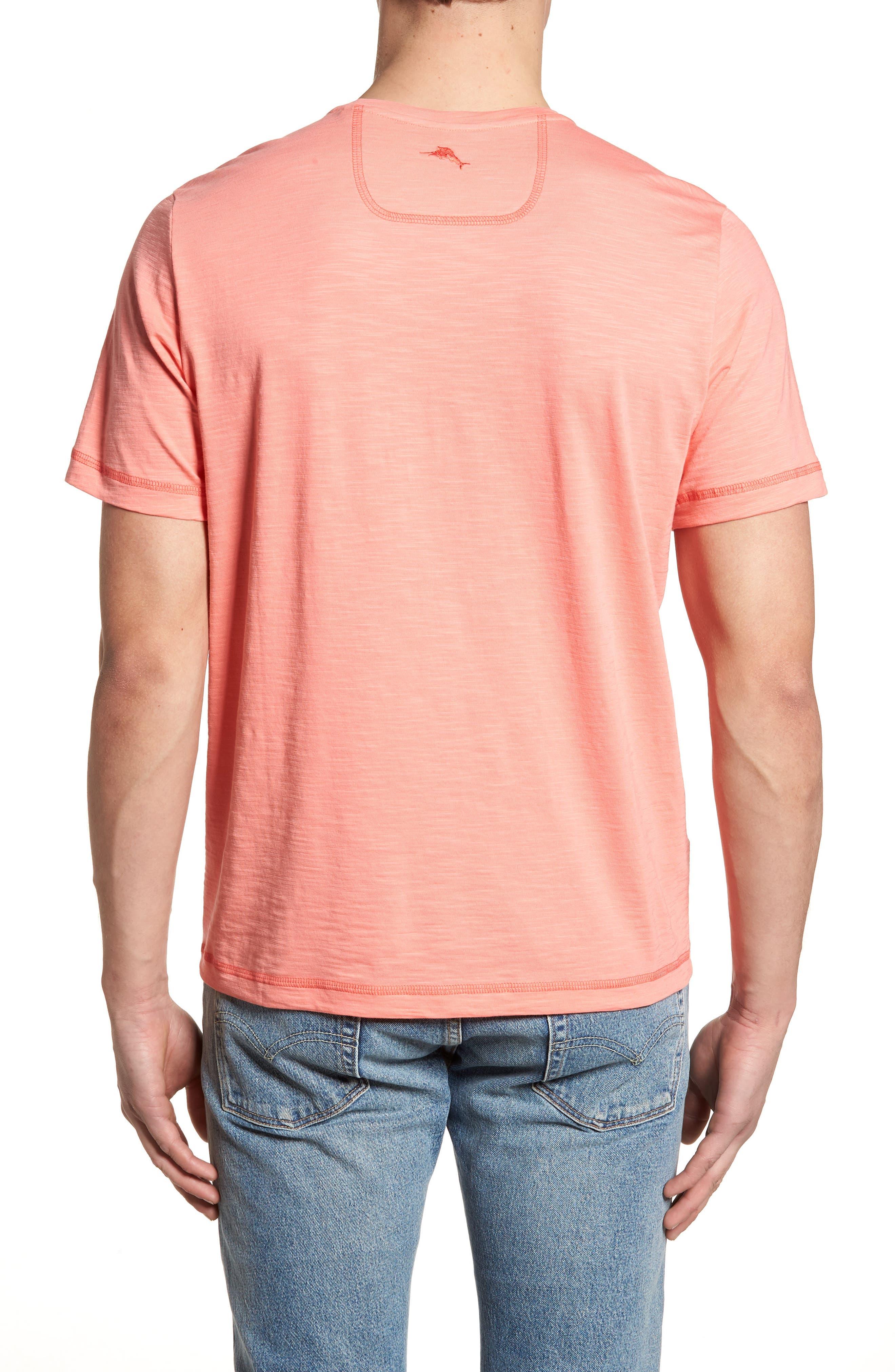 Portside Palms V-Neck T-Shirt,                             Alternate thumbnail 18, color,