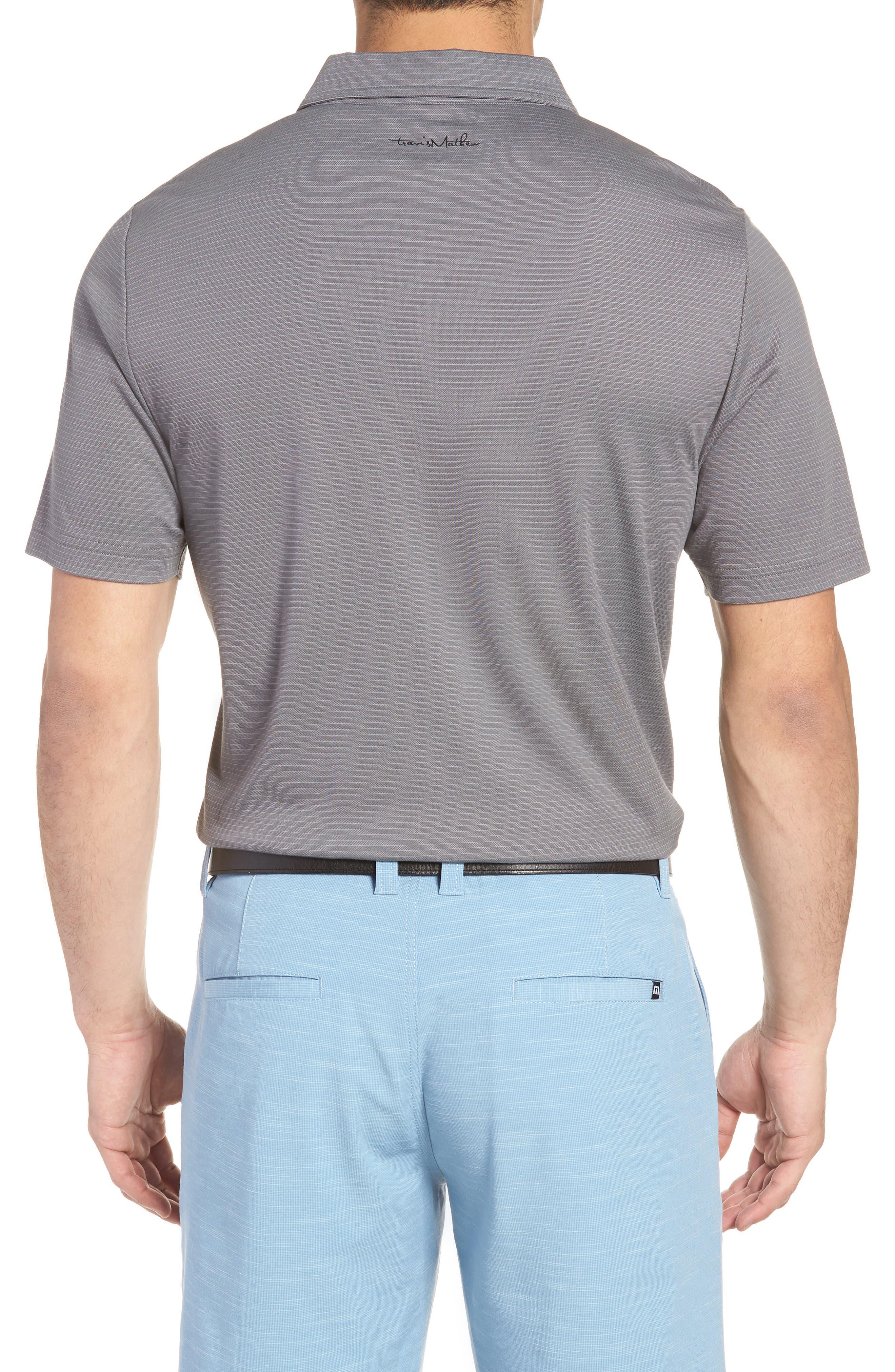 Watty Stripe Cotton Blend Polo,                             Alternate thumbnail 2, color,                             020