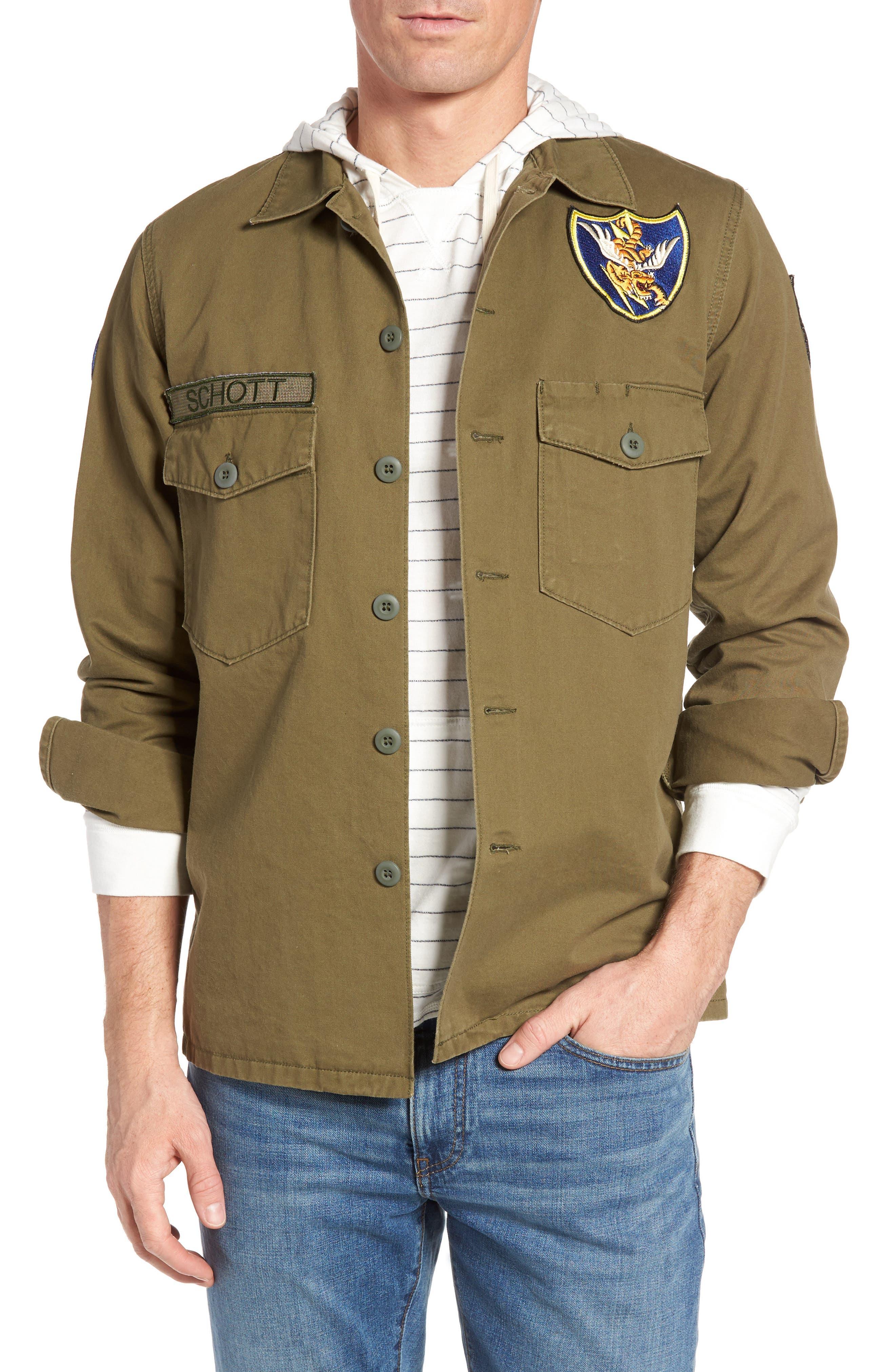 Flying Tenth Fatigue Shirt,                             Main thumbnail 1, color,