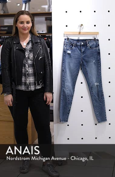 The Reade Seam Detail Skinny Jeans, sales video thumbnail