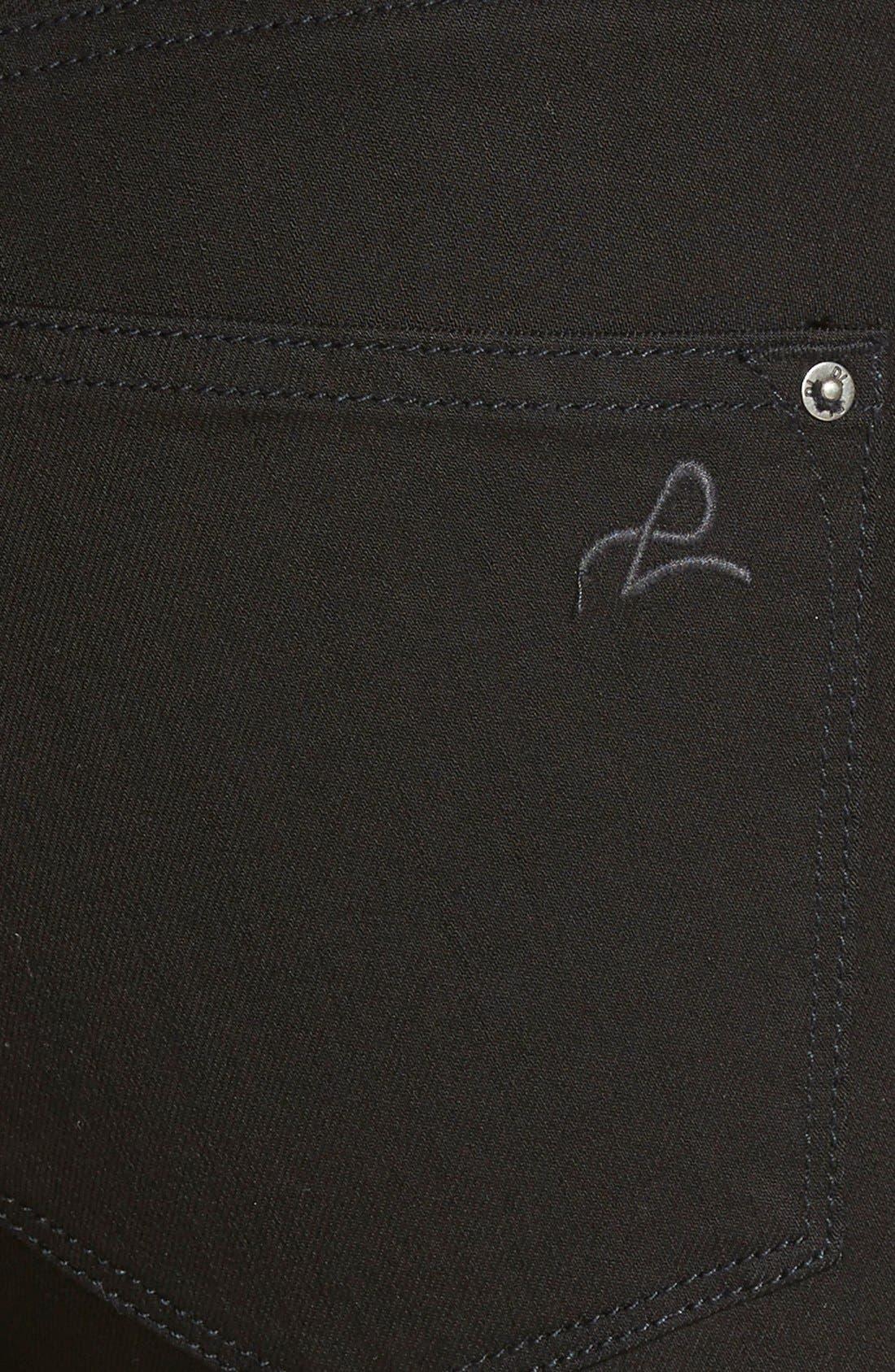 DL1961,                             DL 1961 'Nina' High Rise Skinny Jeans,                             Alternate thumbnail 2, color,                             001