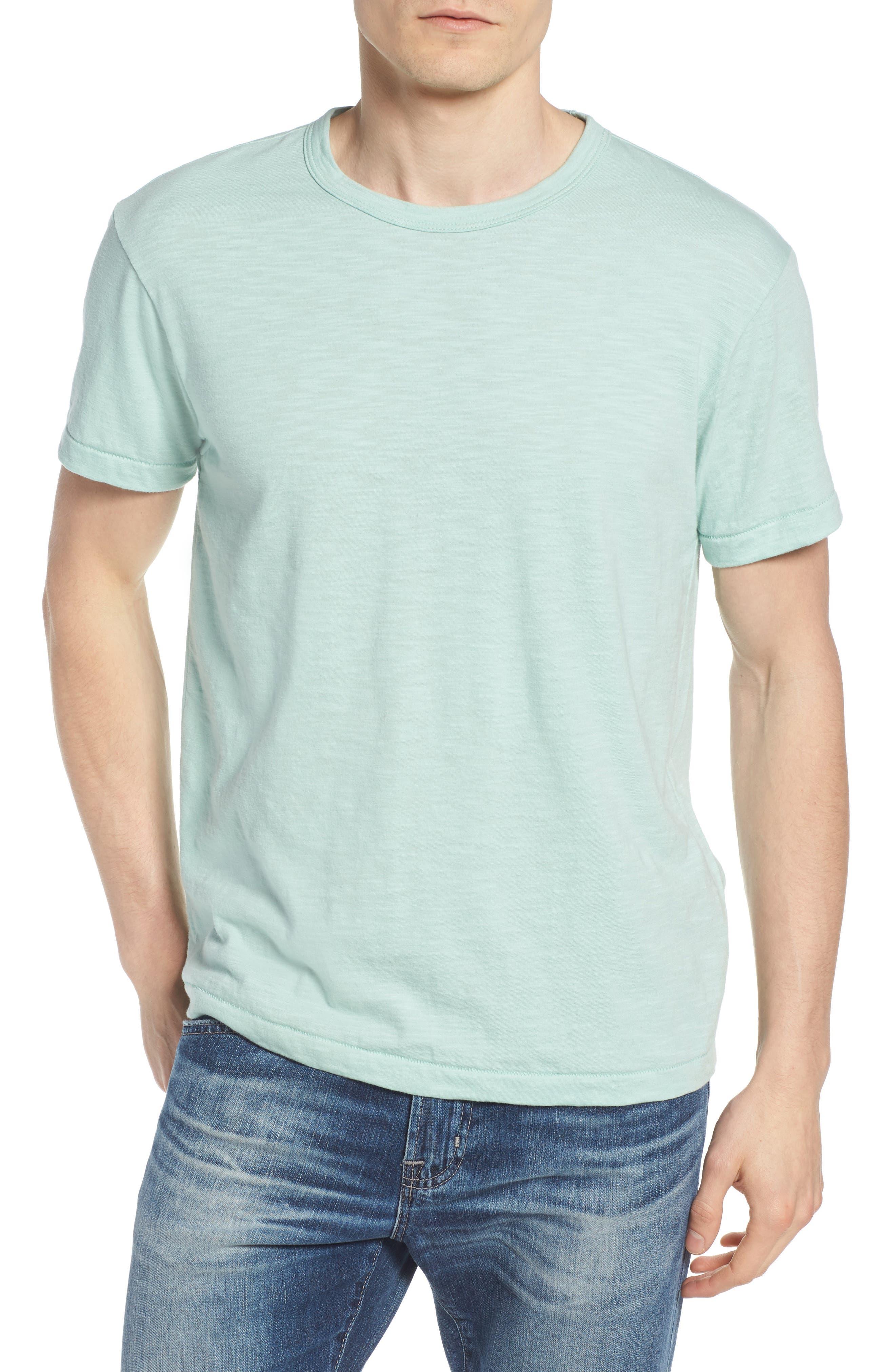 + Champion Crewneck T-Shirt,                             Main thumbnail 1, color,                             VINTAGE AQUA