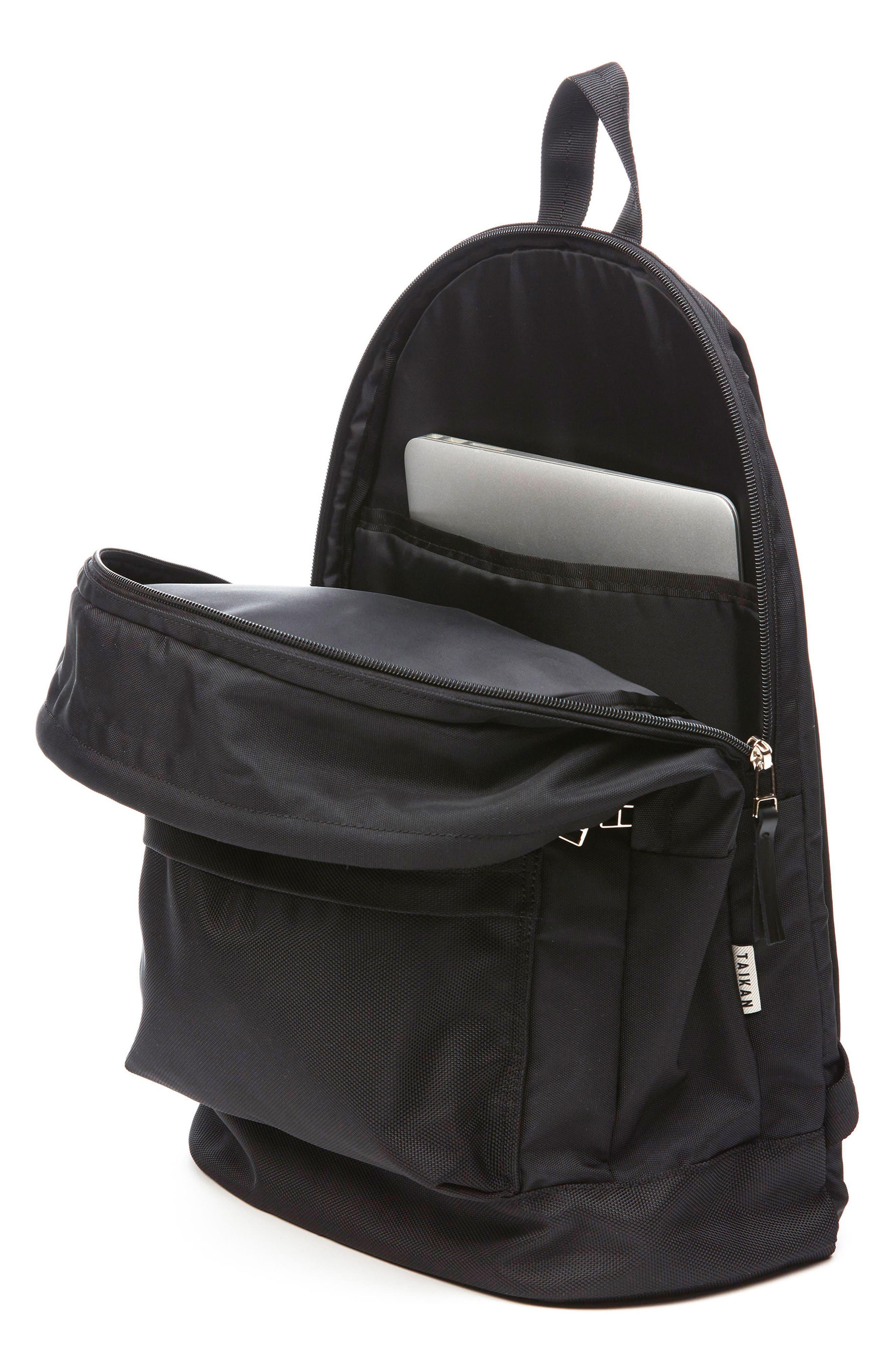 Lancer Backpack,                             Alternate thumbnail 3, color,                             MATTE BLACK
