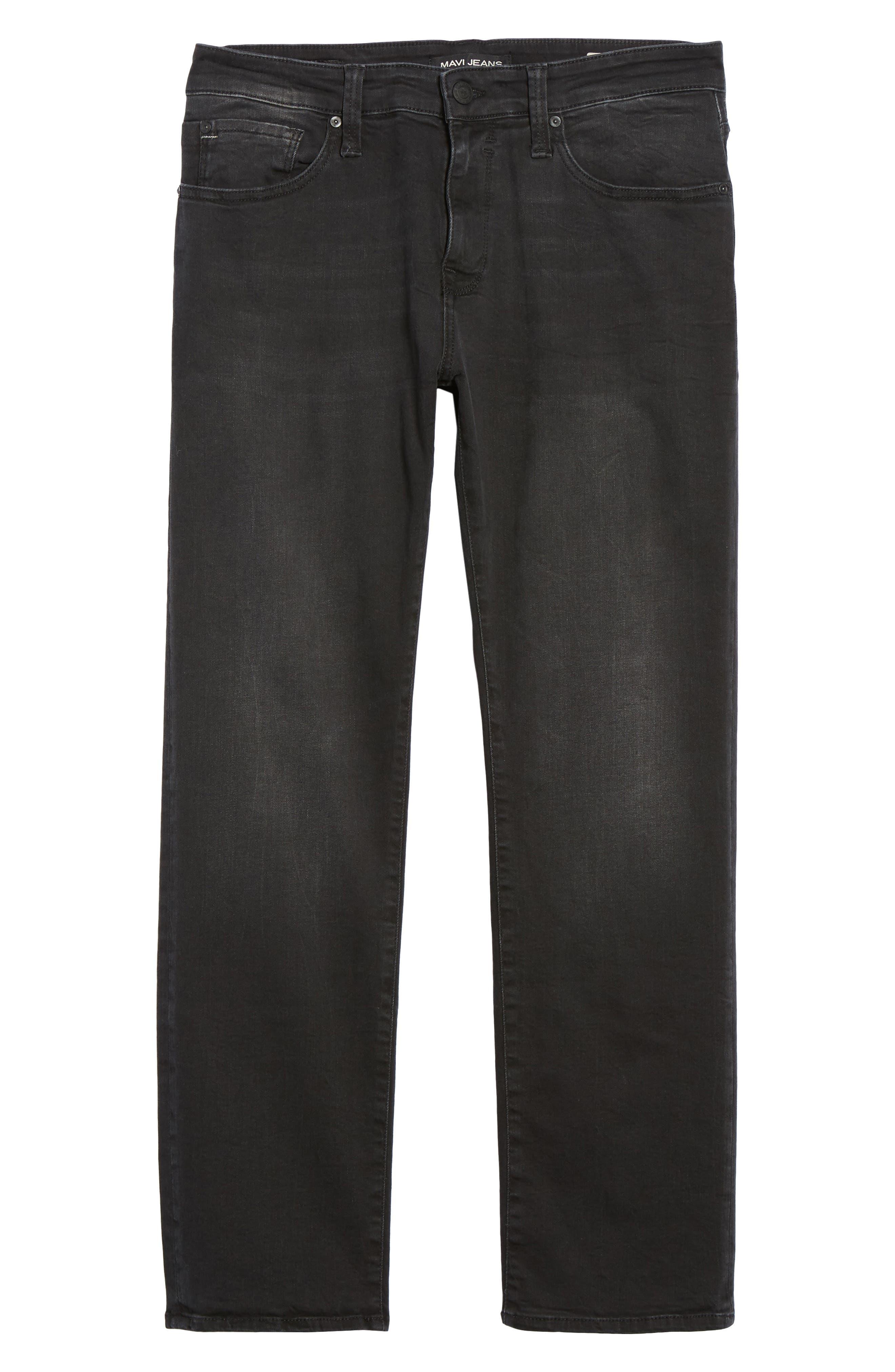 Zach Straight Fit Jeans,                             Alternate thumbnail 6, color,                             050