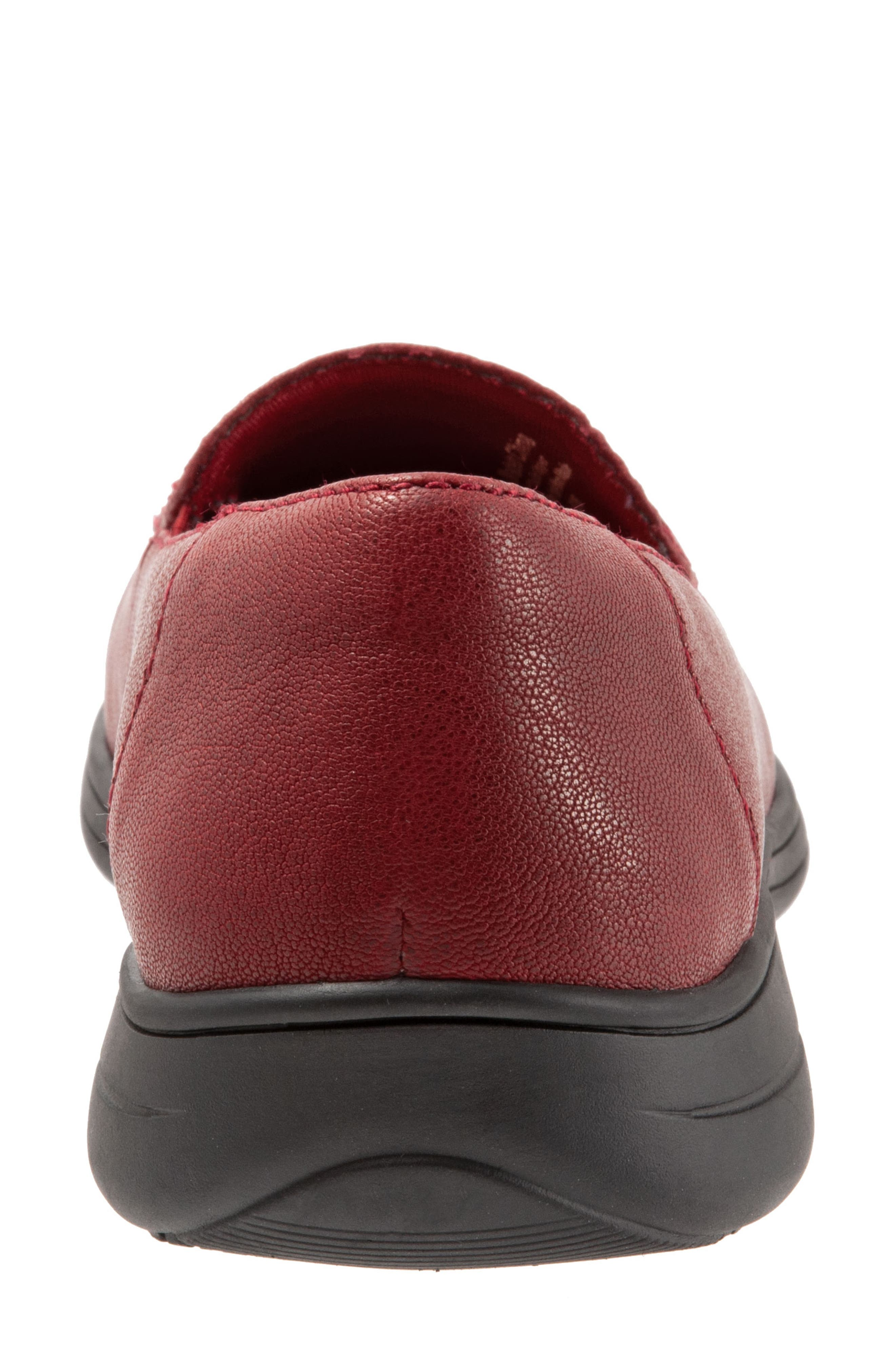 Jacob Loafer,                             Alternate thumbnail 7, color,                             DARK RED LEATHER